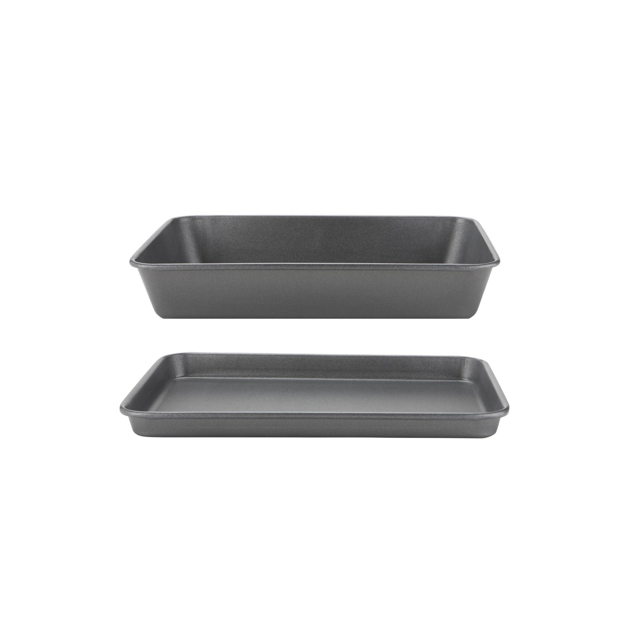 Image of Prestige Oven Tray and Roaster Twin Pack