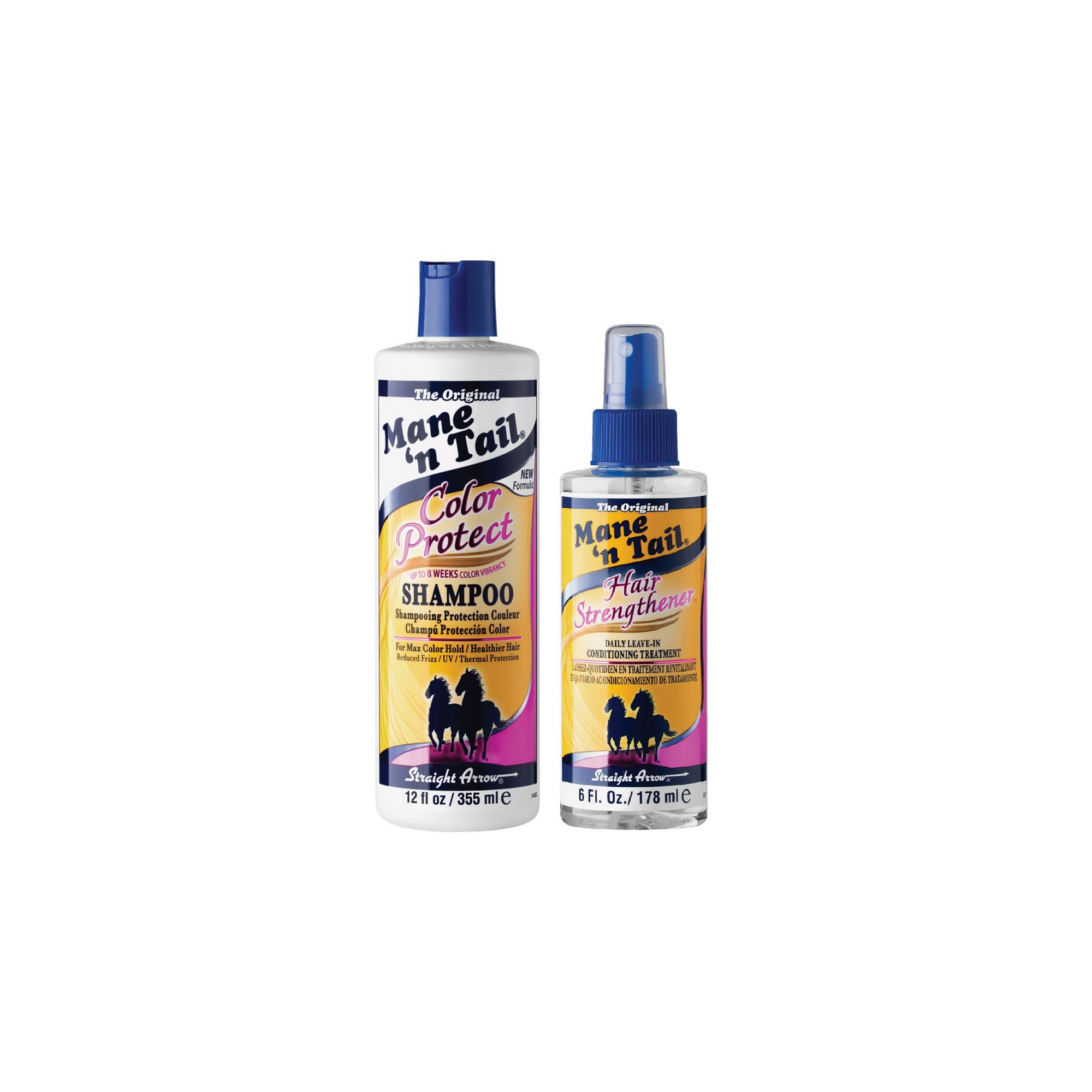 Image of Mane n Tail Colour Protect Shampoo + Strengthener Set