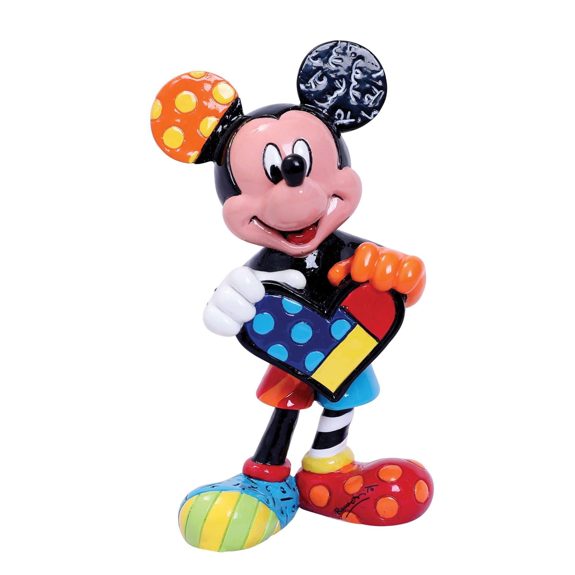 Image of Disney Britto Mickey Mouse Mini Figurine