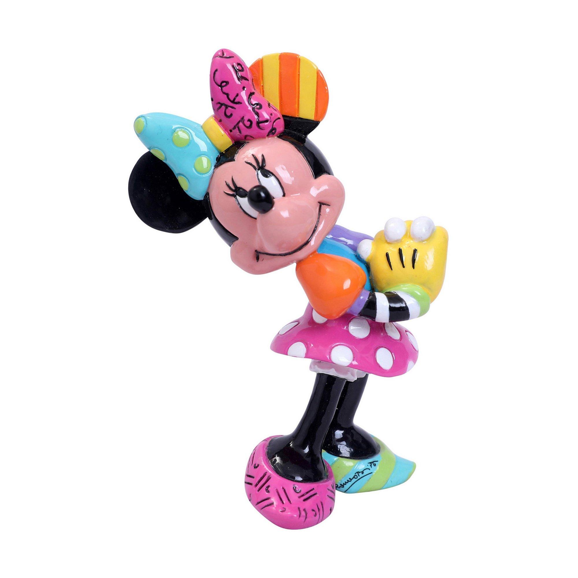 Image of Disney Minnie Mouse Blushing Mini Figurine