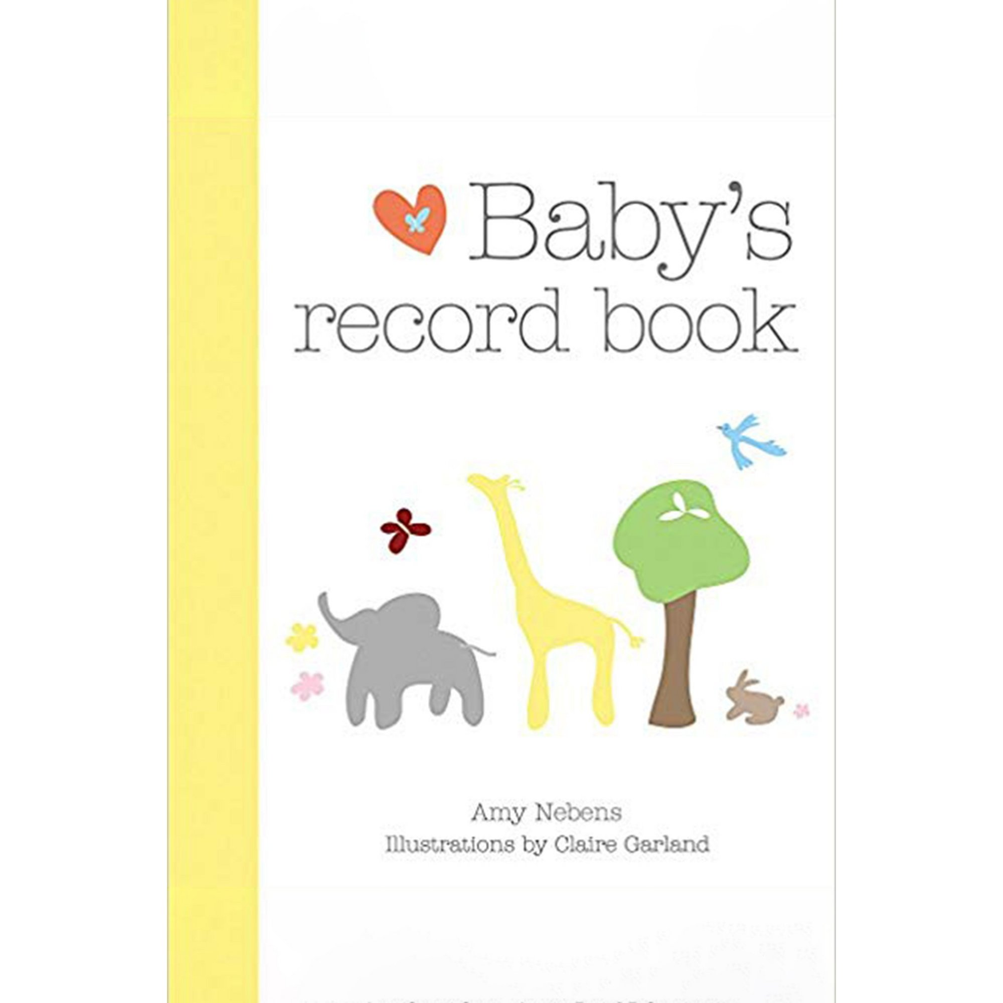 Image of Babys Record Book Book