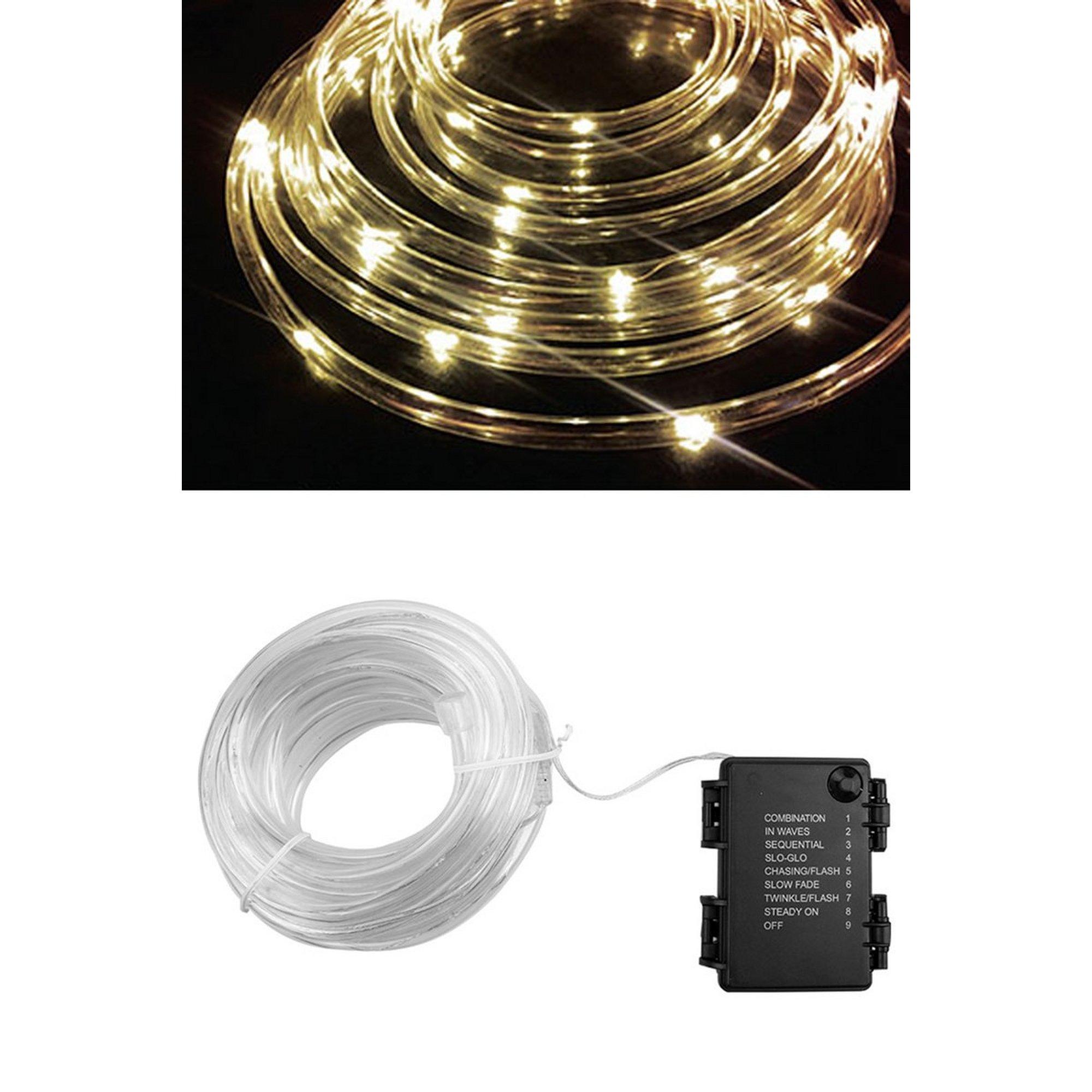 Image of 40 LED Rope Lights Warm White