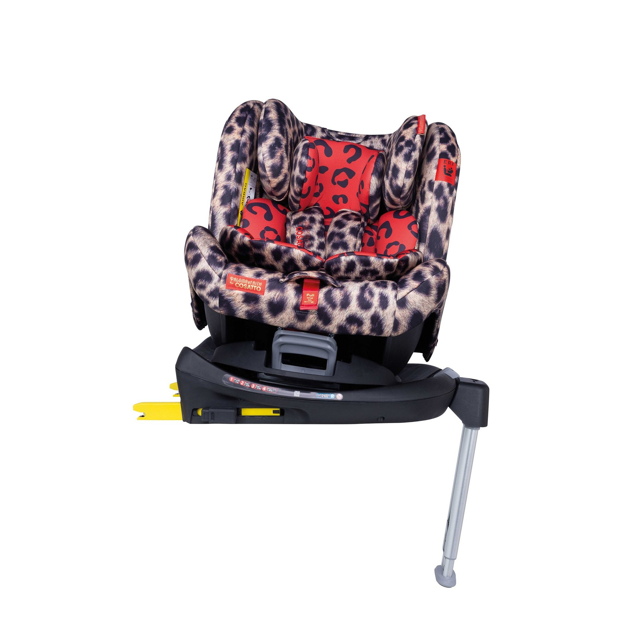 Image of Cosatto Paloma All In All Rotate Group 0+123 Car Seat Hear Us Roar