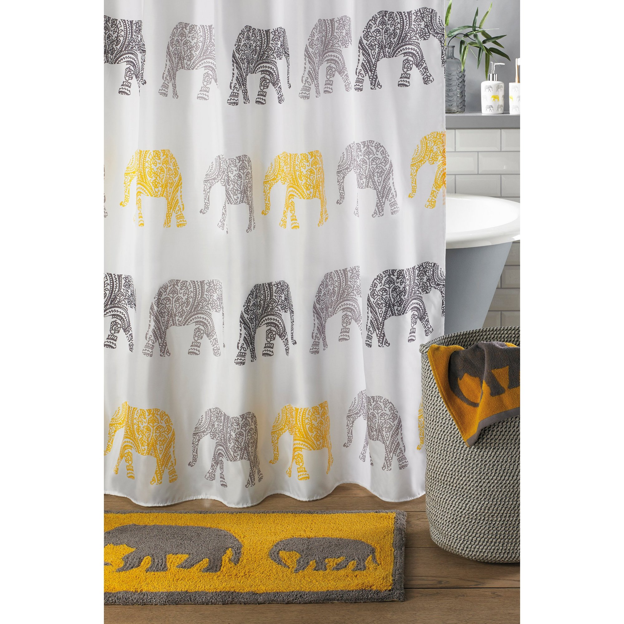 Image of Beldray Elephant Shower Curtain