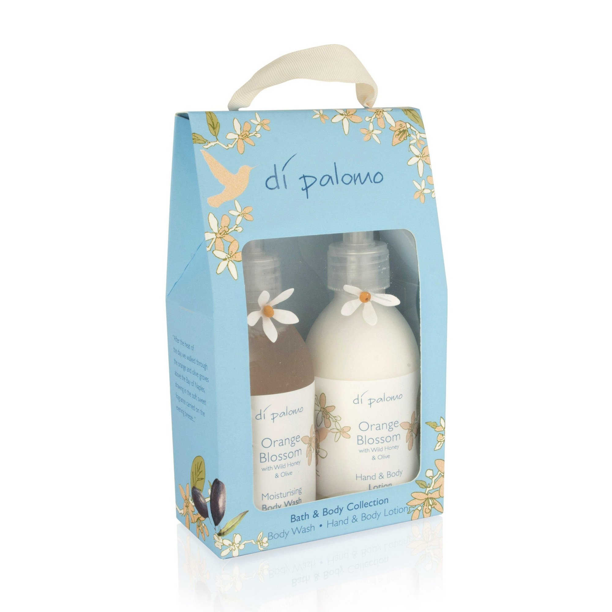 Image of Di Palomo Orange Blossom Bath and Body Gift Set