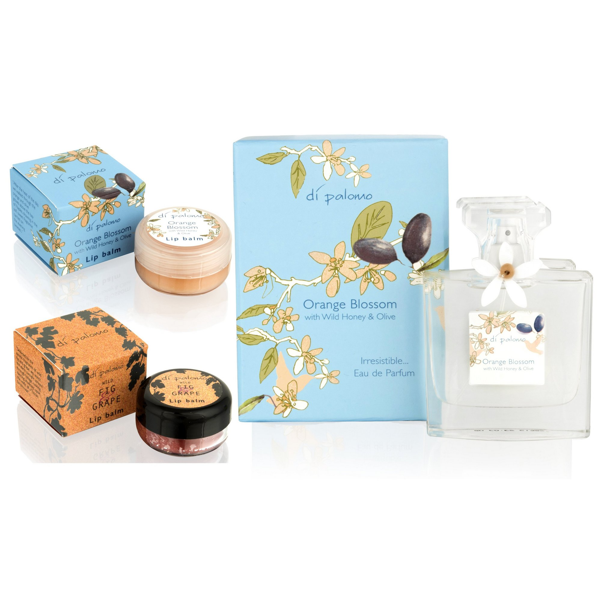 Image of Di Palomo Orange Blossom 50ml EDP and Lip Balm Set