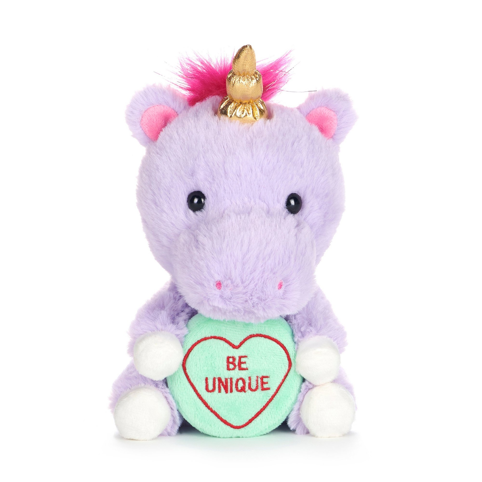 Image of Love Hearts - Unicorn Be Unique Soft Toy