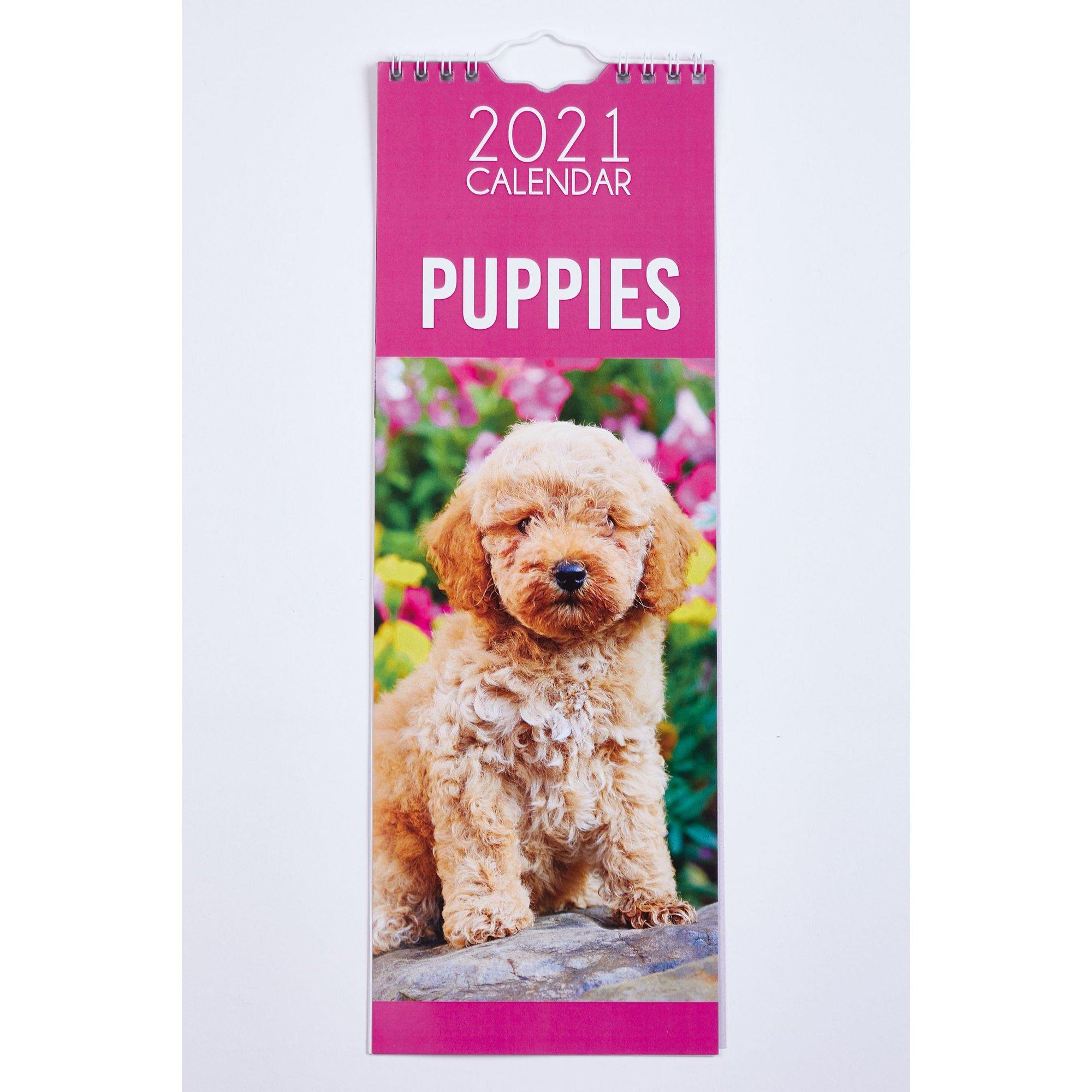 Image of Slim Puppies Calendar 2021