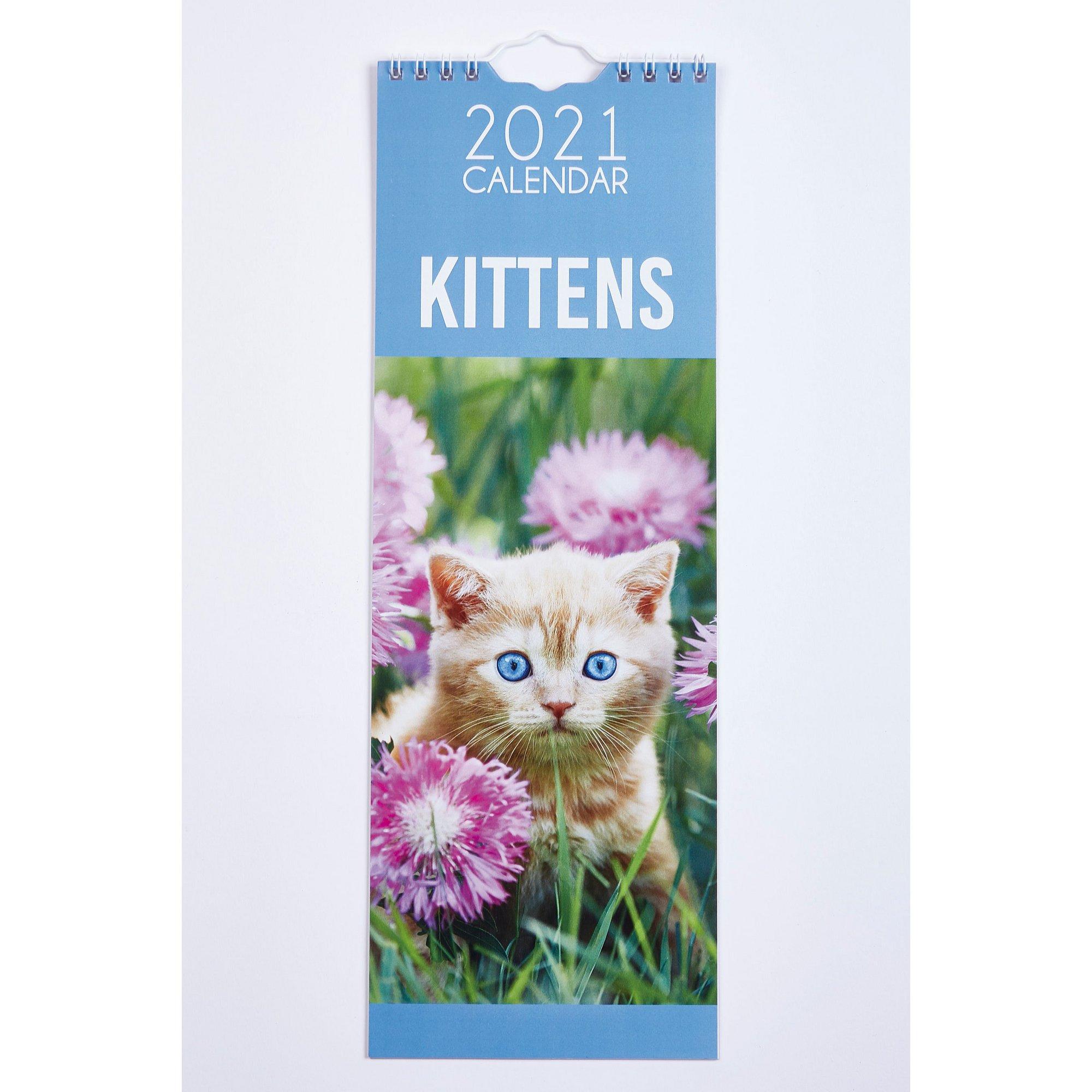 Image of Slim Kittens Calendar 2021