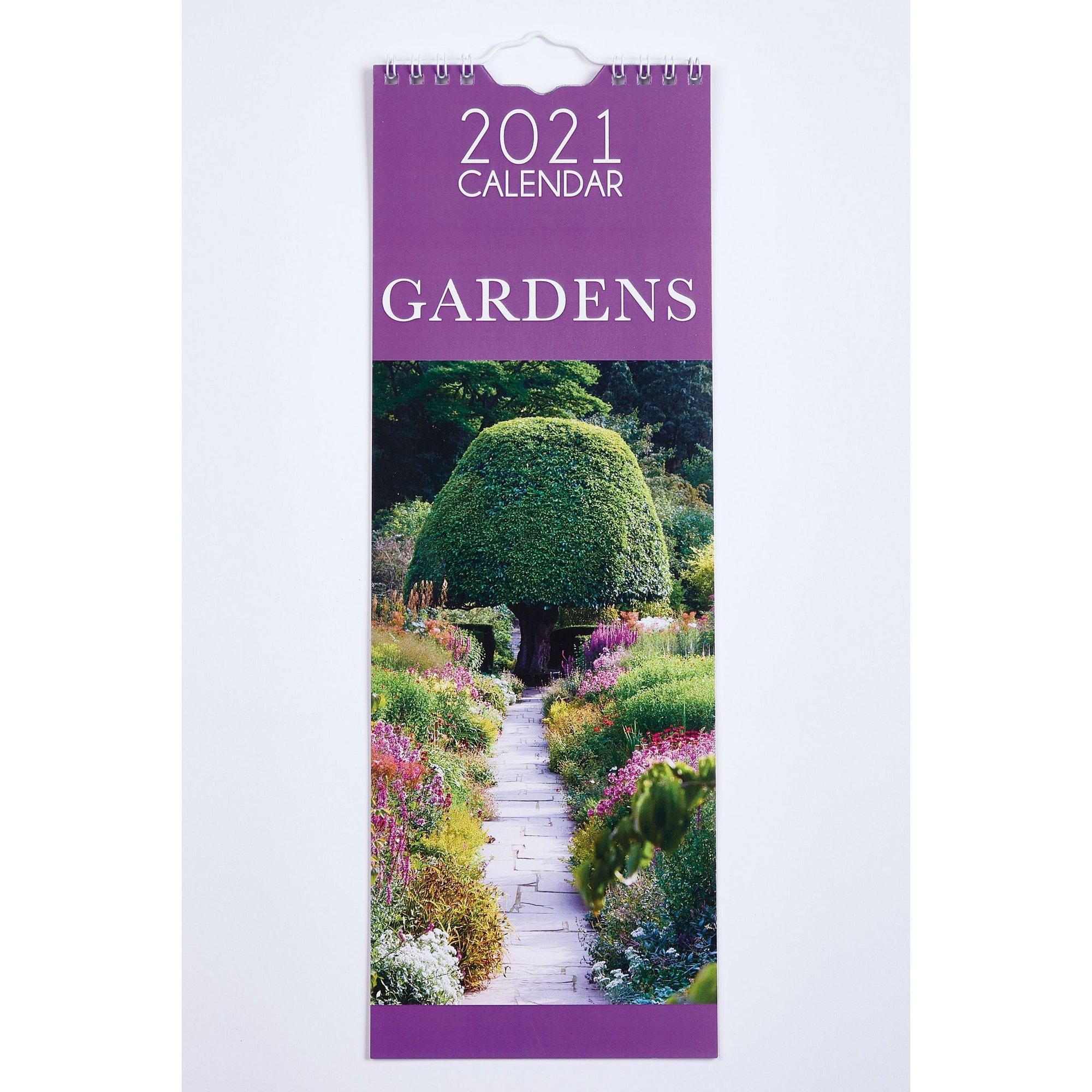 Image of Slim Gardens Calendar 2021