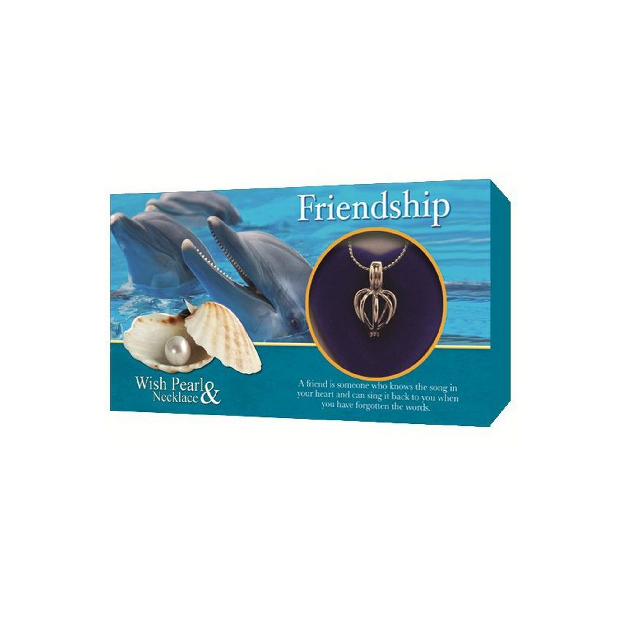 Image of Make a Wish Friendship Pearl Pendant Gift Set
