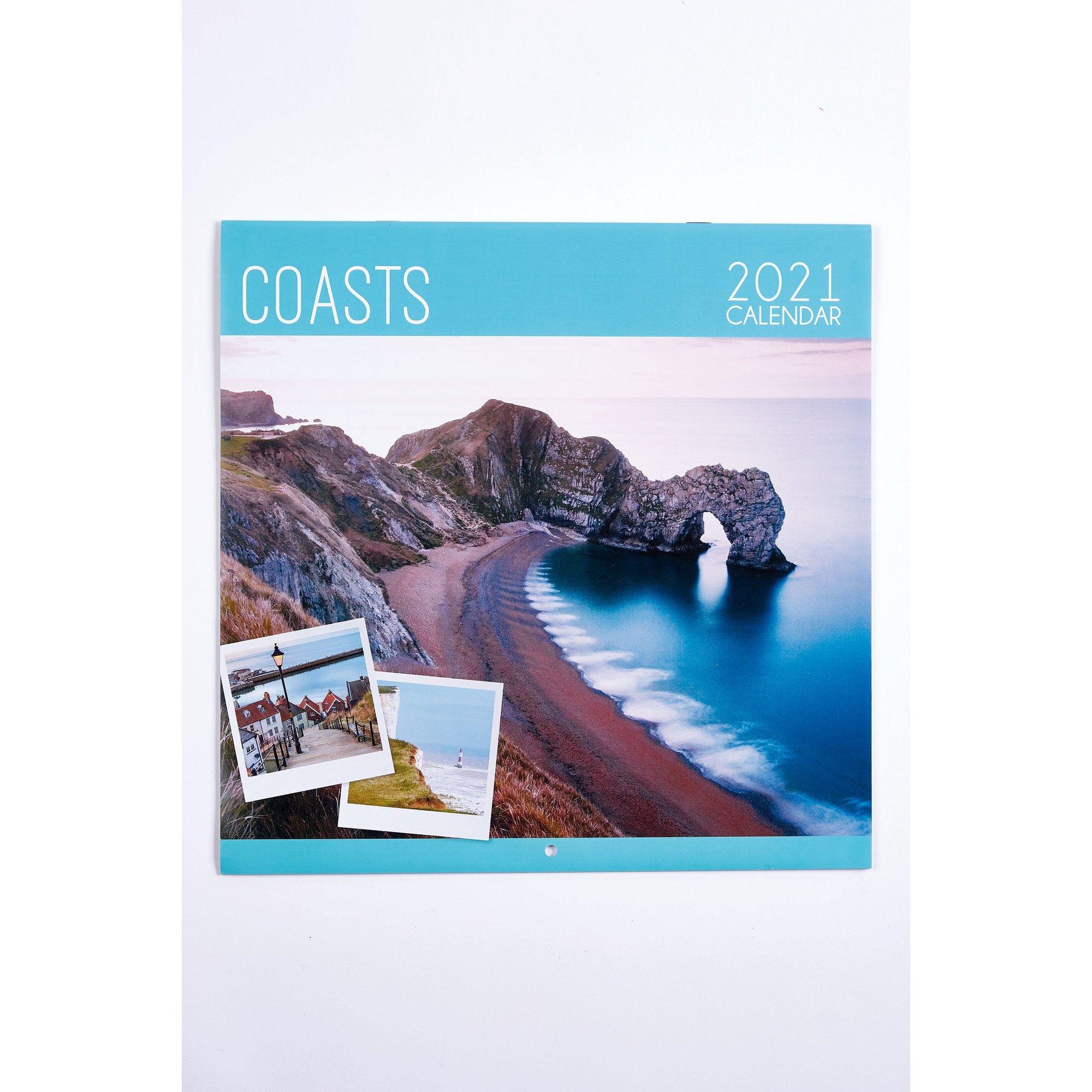 Image of Coasts Calendar 2021
