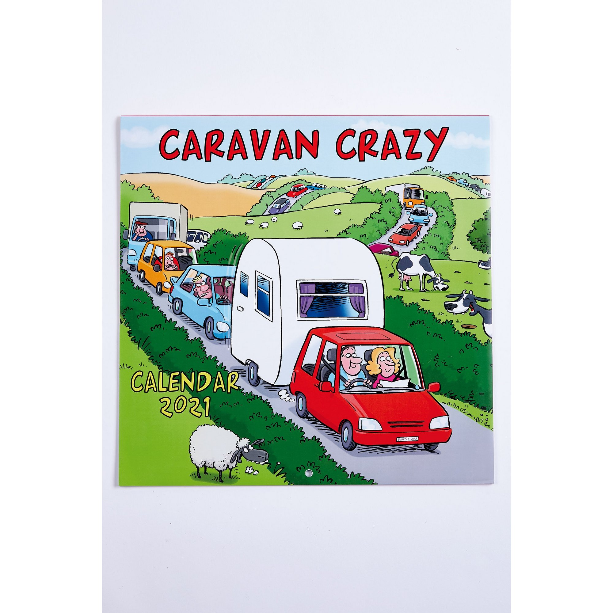 Image of Caravan Crazy Calendar 2021