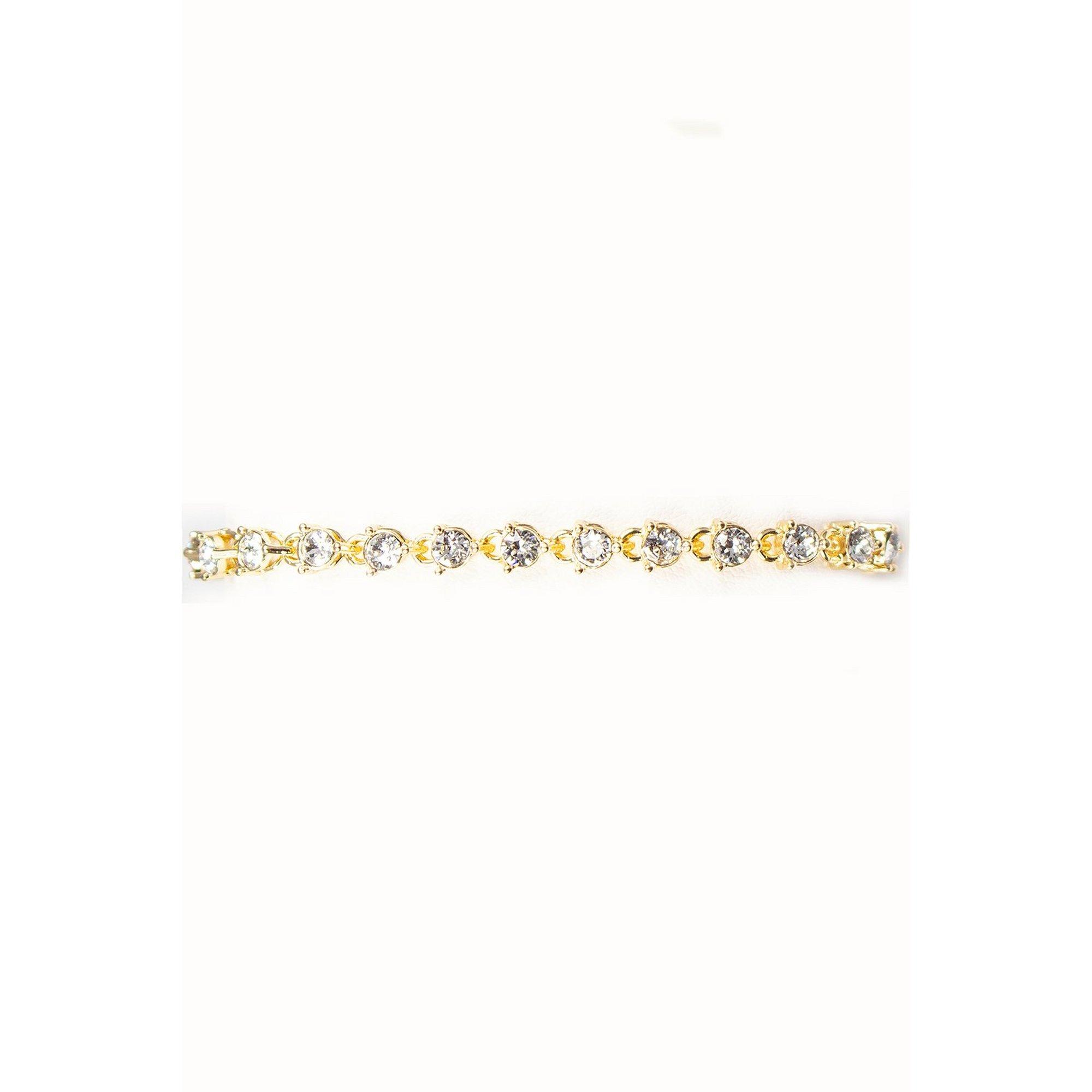 Image of Eternity Gold Bracelet with Swarovski Elements