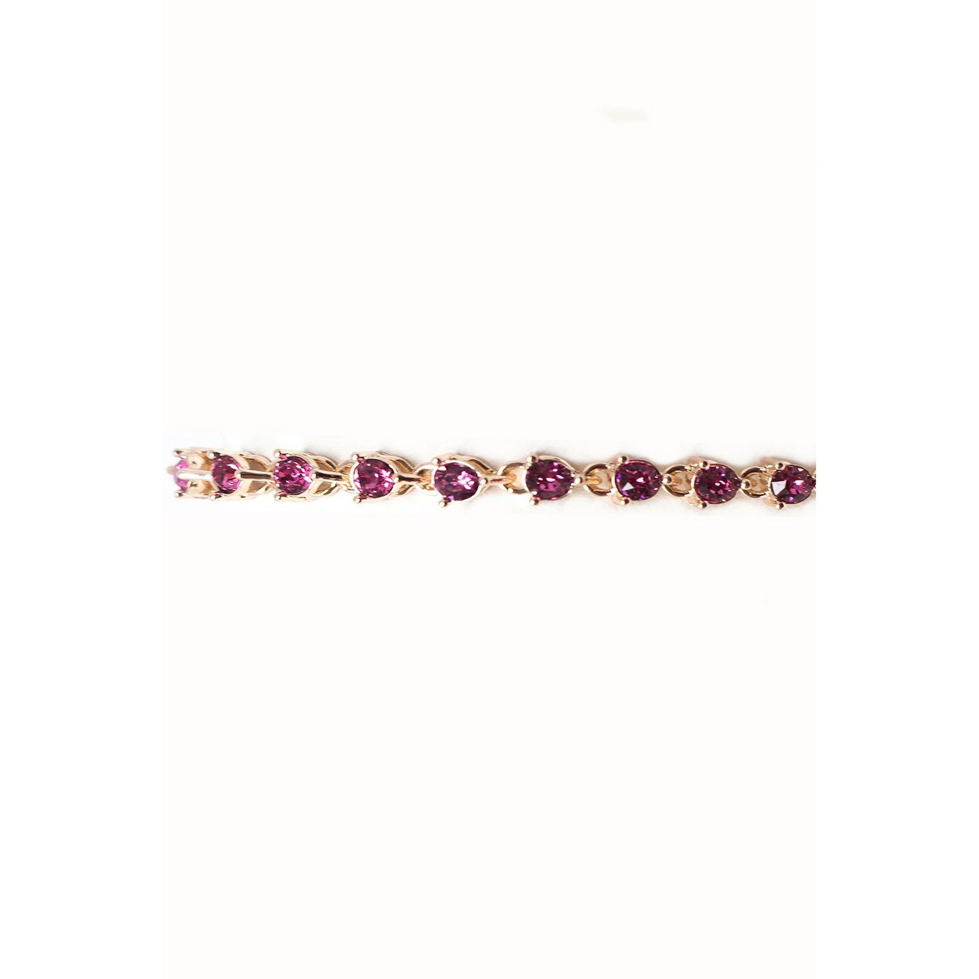 Image of Eternity Rose Gold Bracelet with Swarovski Elements