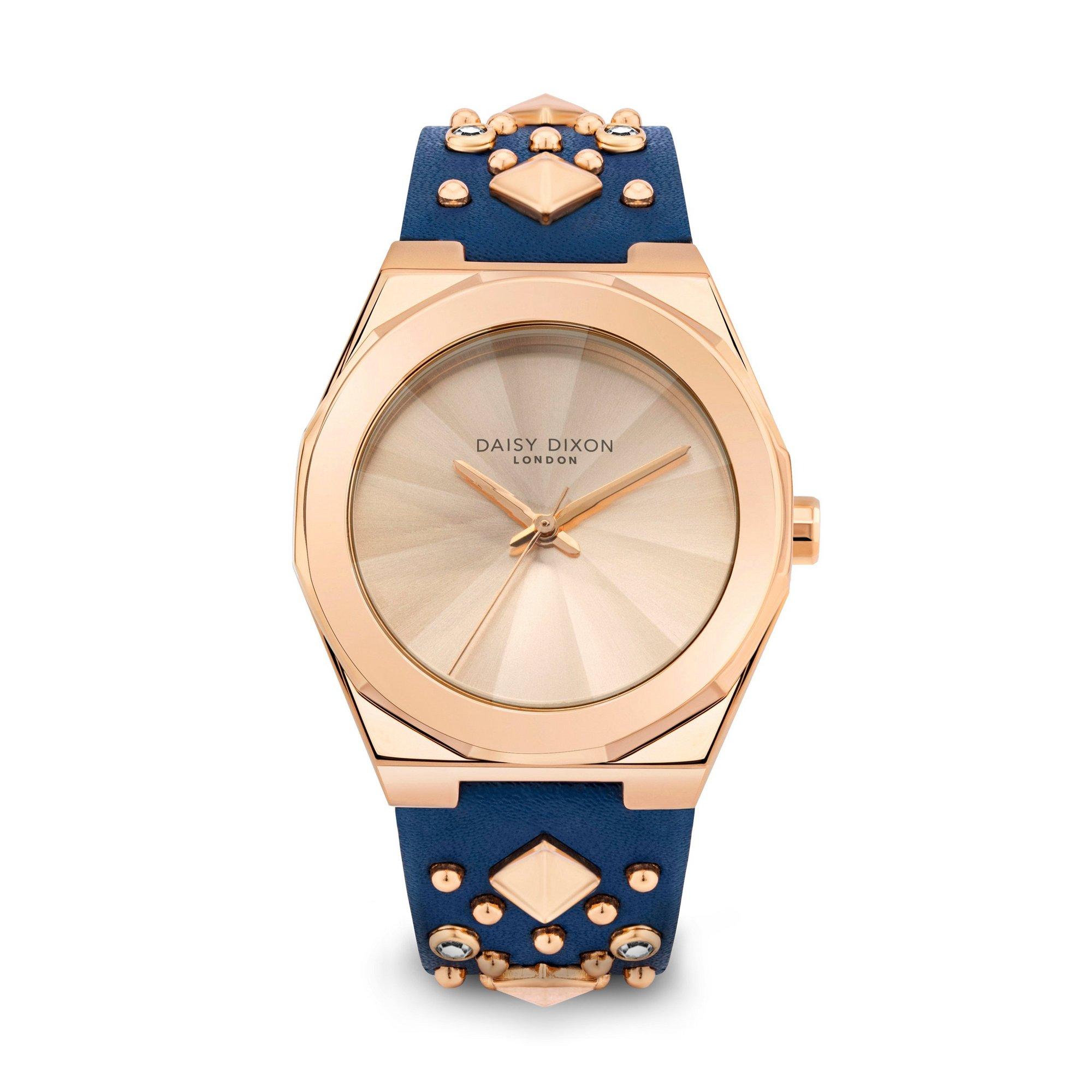 Image of Daisy Dixon Alessandra Navy Strap Watch