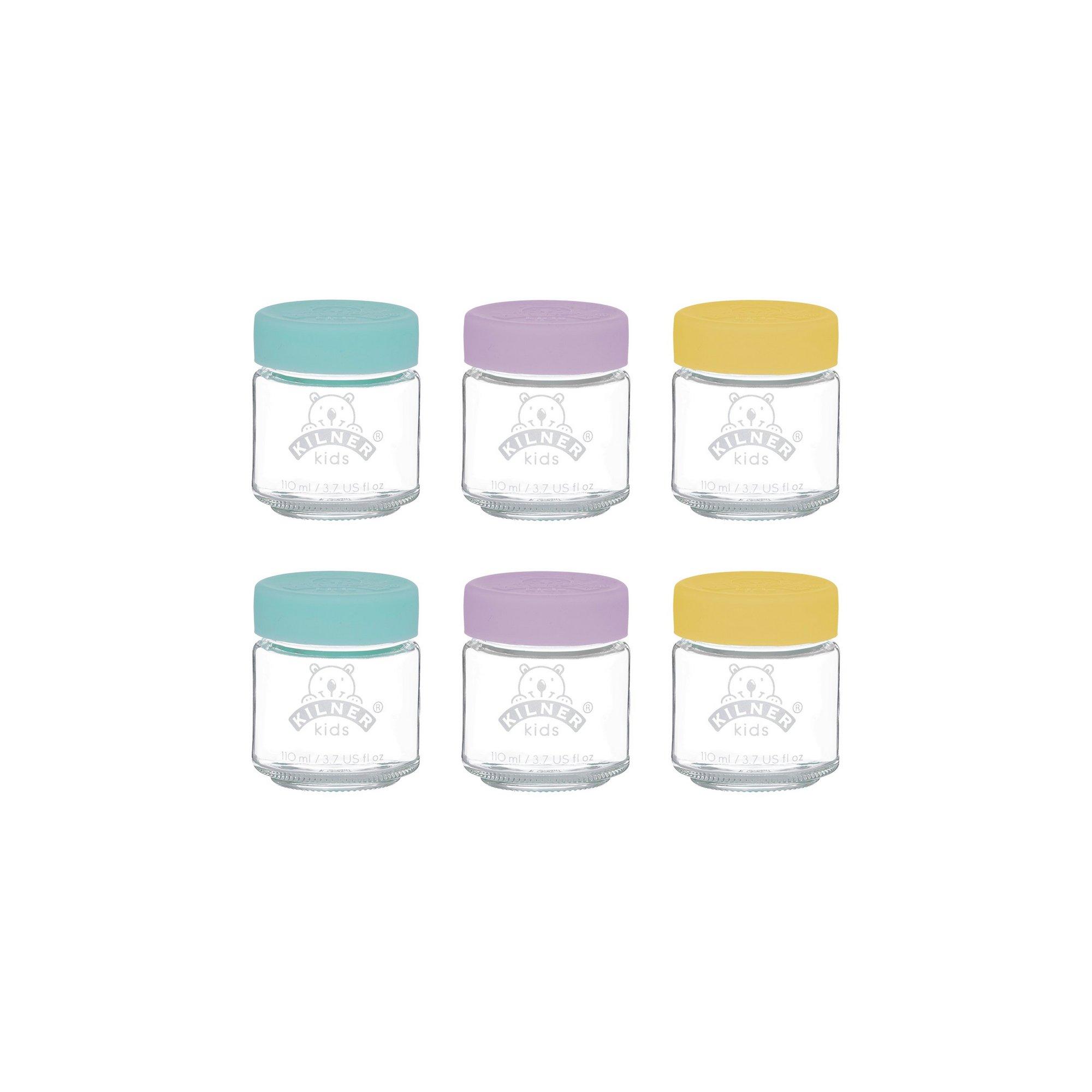 Image of Kilner Set of 6 110ml Kids Jars