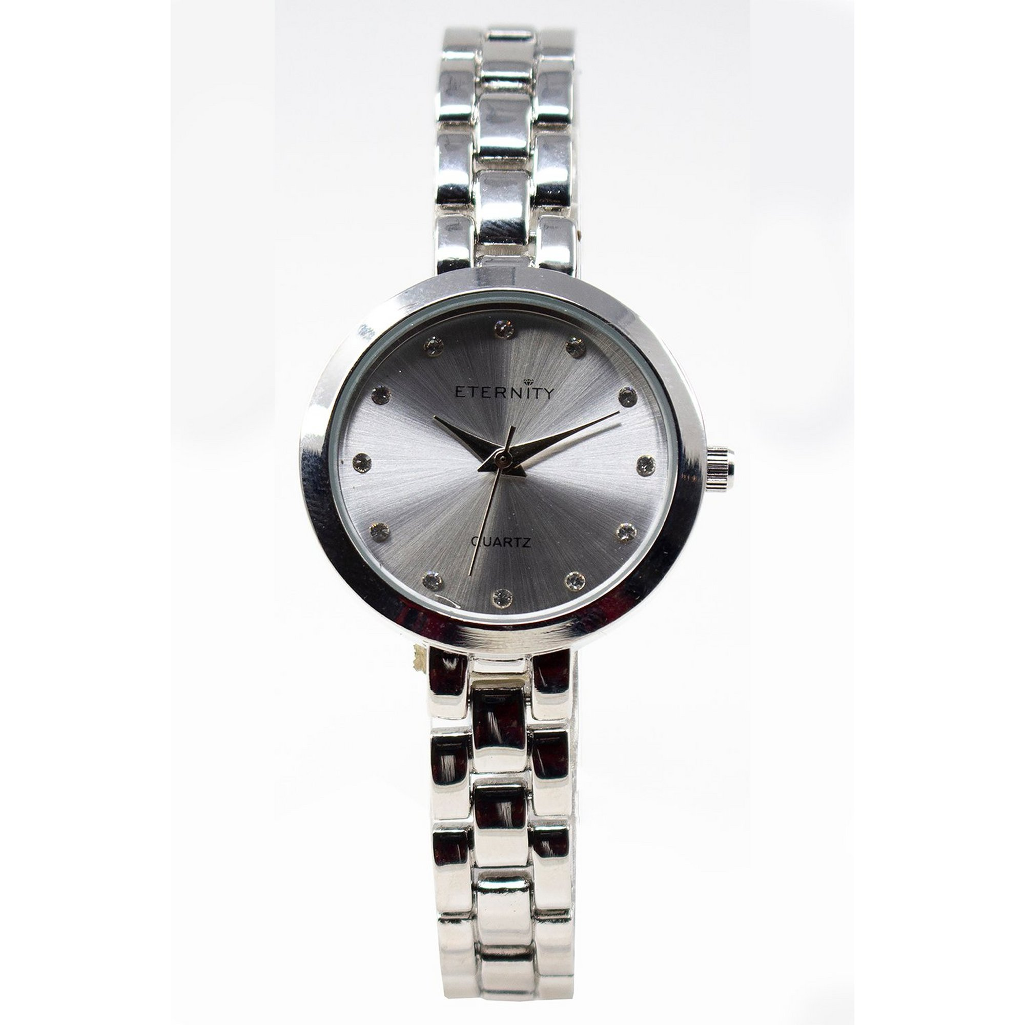 Image of Eternity Silver Analogue Watch with Silver Dial