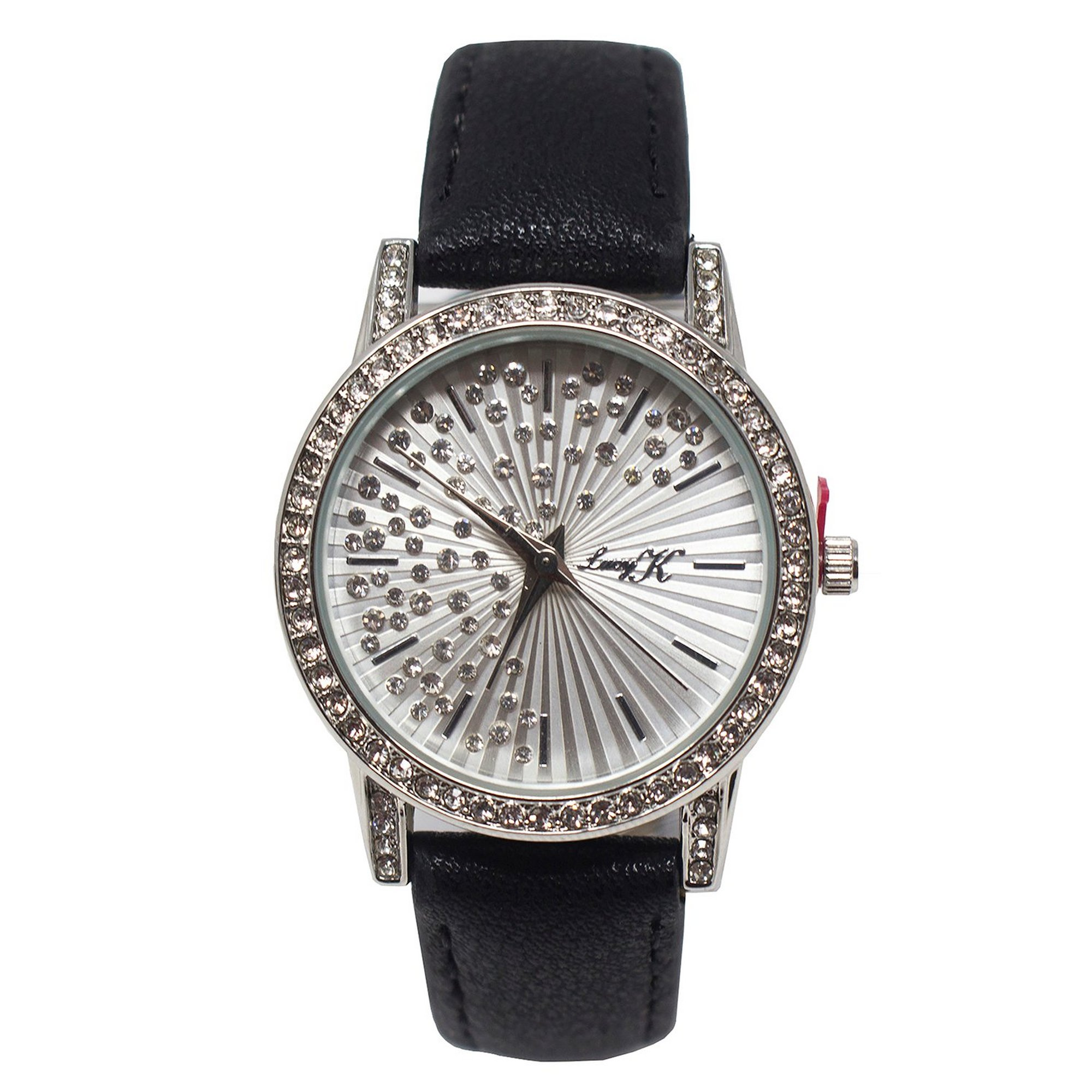 Image of Lucy K Black Strap Analogue Watch