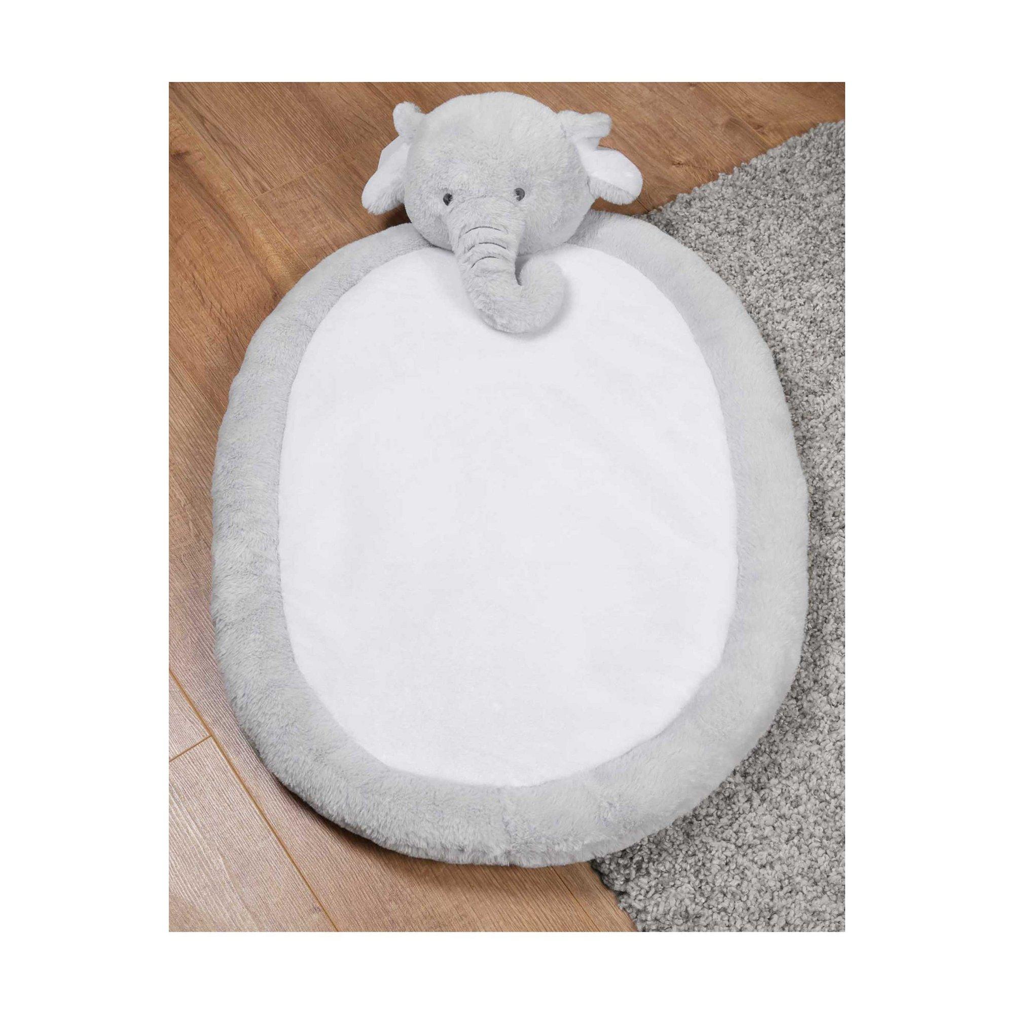Image of Bambino Soft Oval Playmat - Elephant