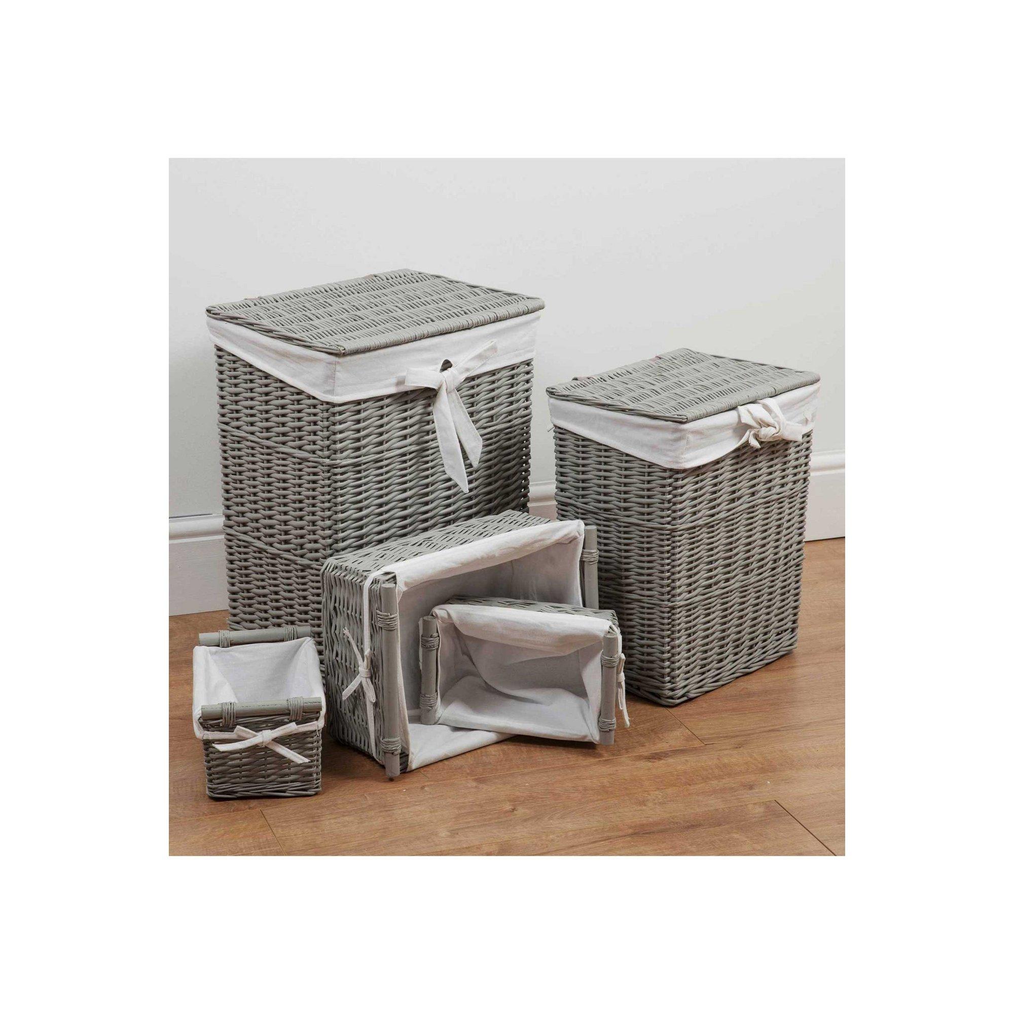 Image of Bambino Set of 5 Rectangular Storage Baskets