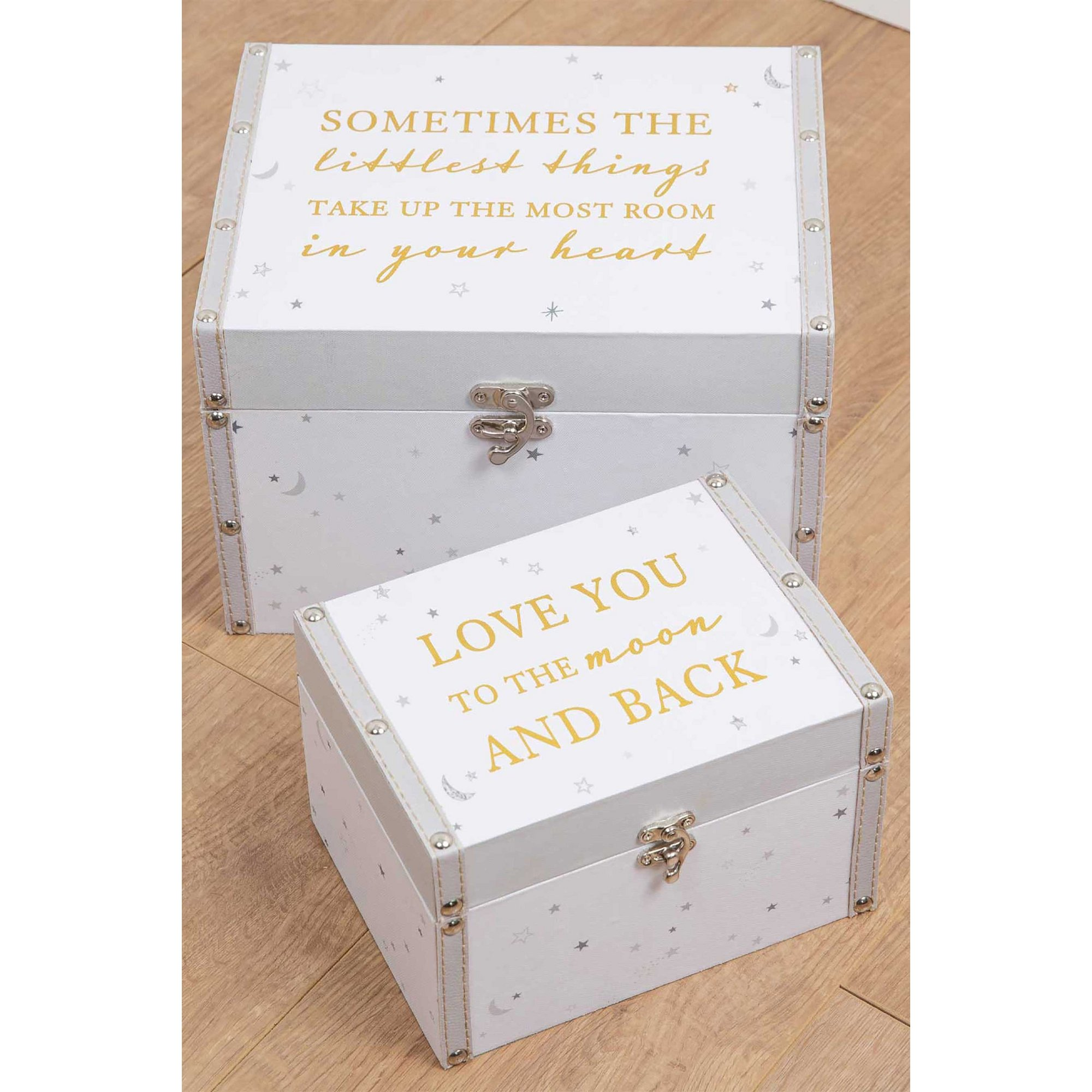 Image of Bambino Set of 2 Storage Boxes