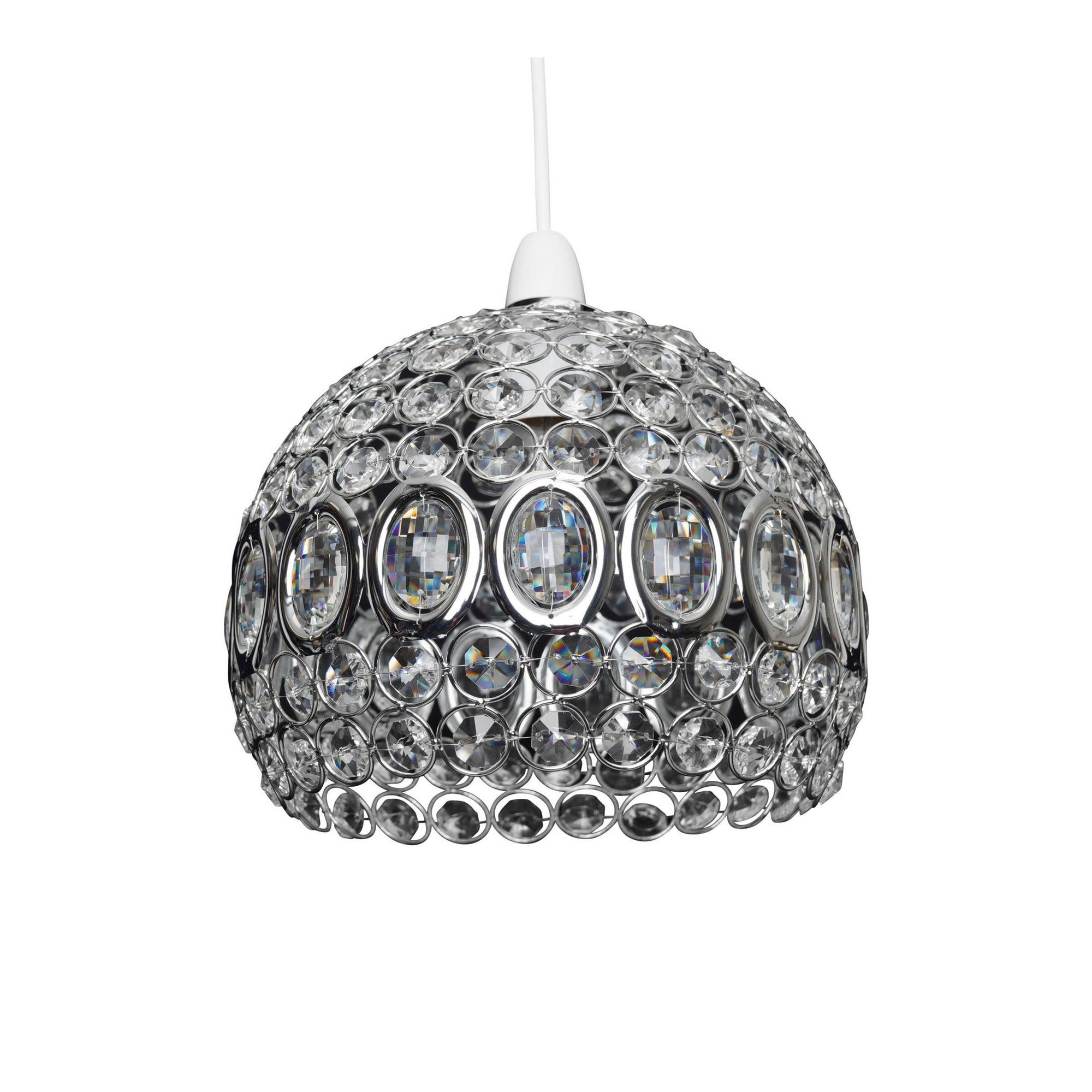 Image of Alice Glass Easy Fit Pendant Lamp Shade