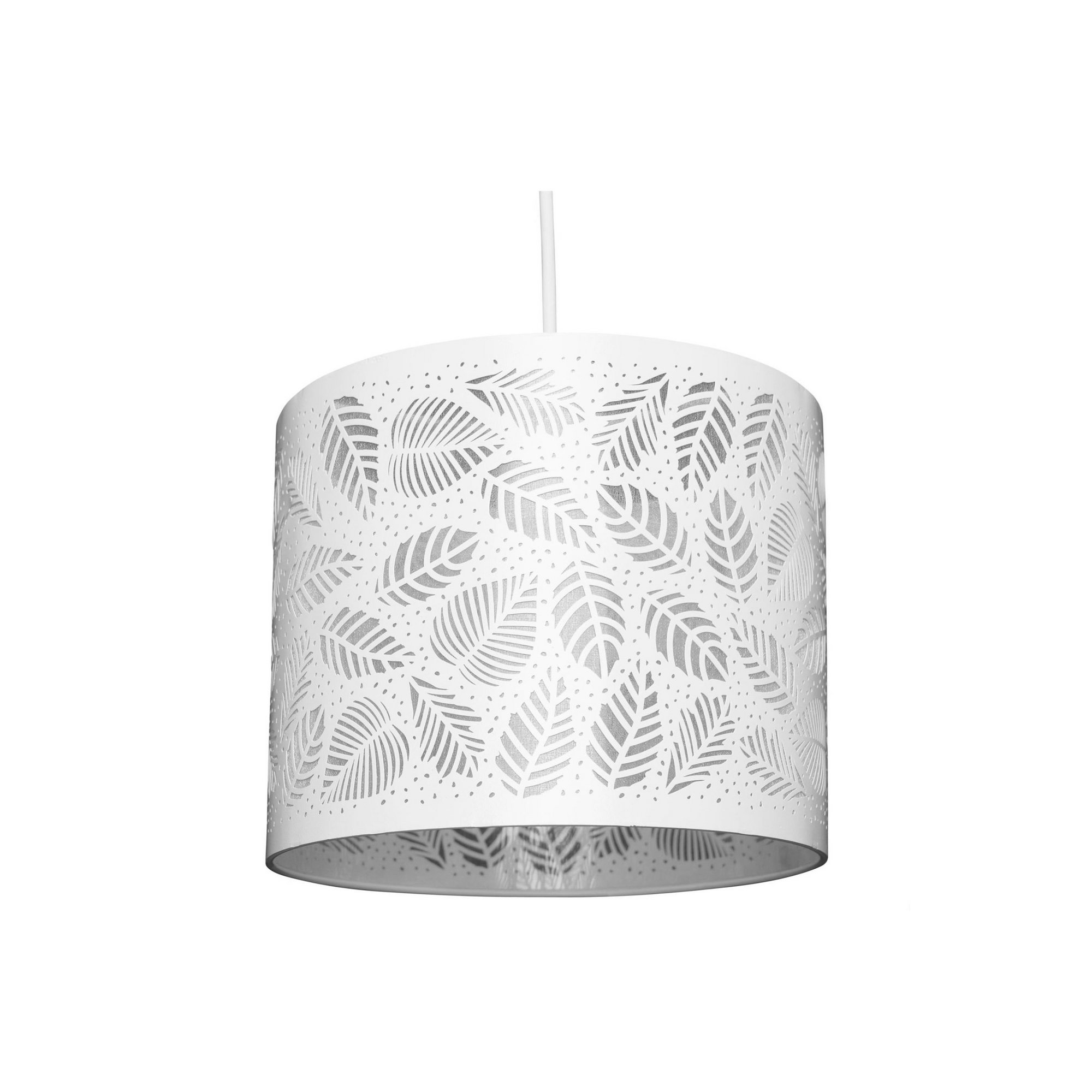 Image of Barrows Leaf Detail Easy Fit Lamp Shade