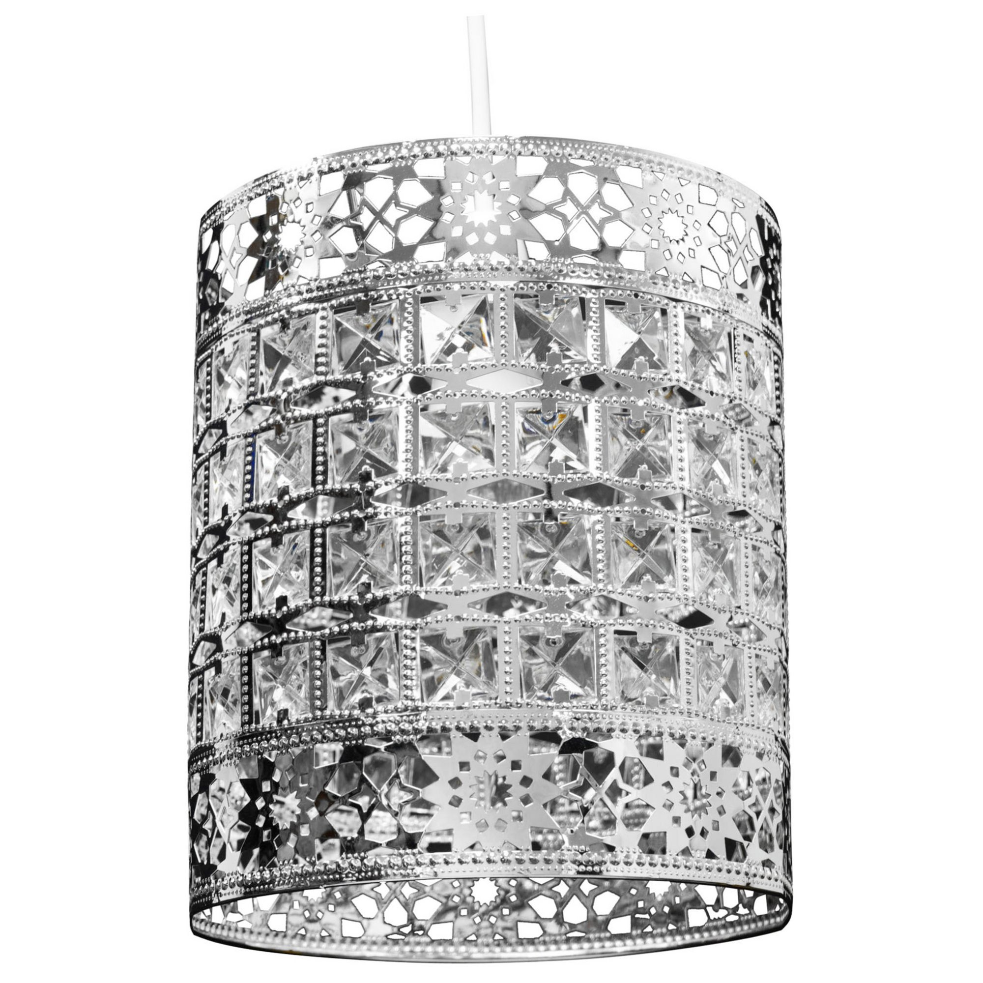 Image of Belmond Acrylic Easy Fit Pendant Lamp Shade