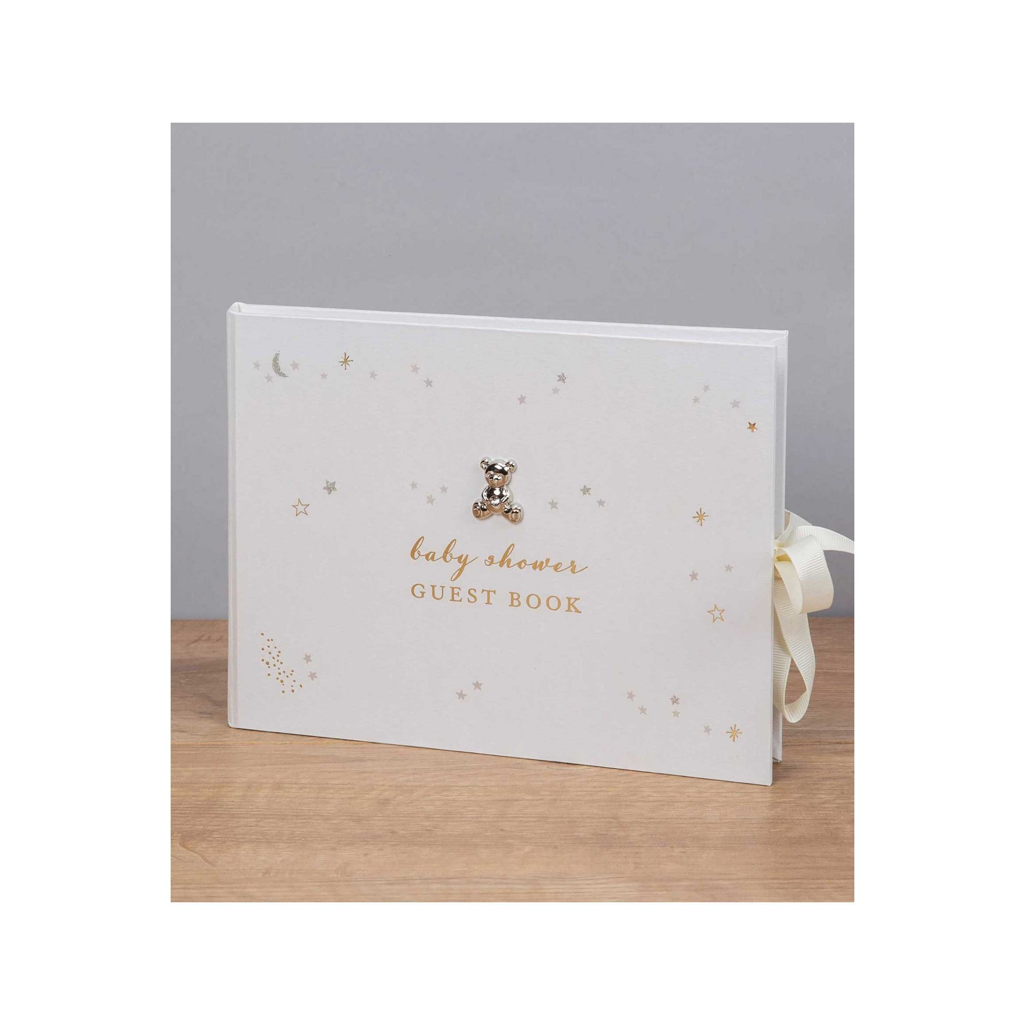 Image of Bambino Little Star Baby Shower Guest Book