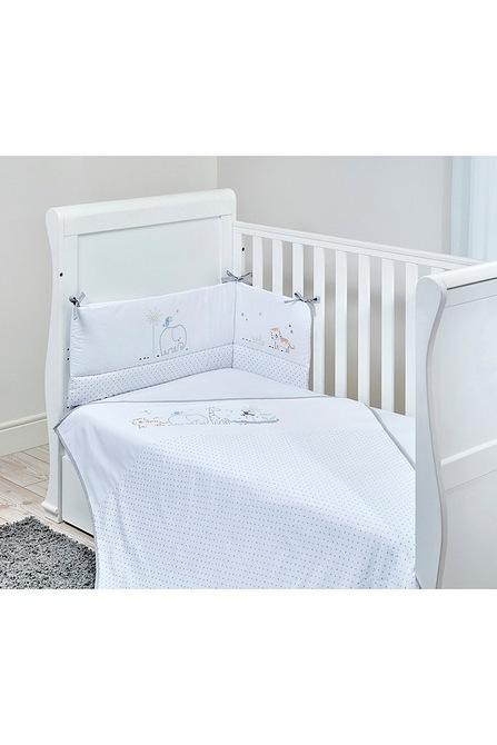 East Coast Nursery Ltd Safari Friends 3 Piece Bedding Set