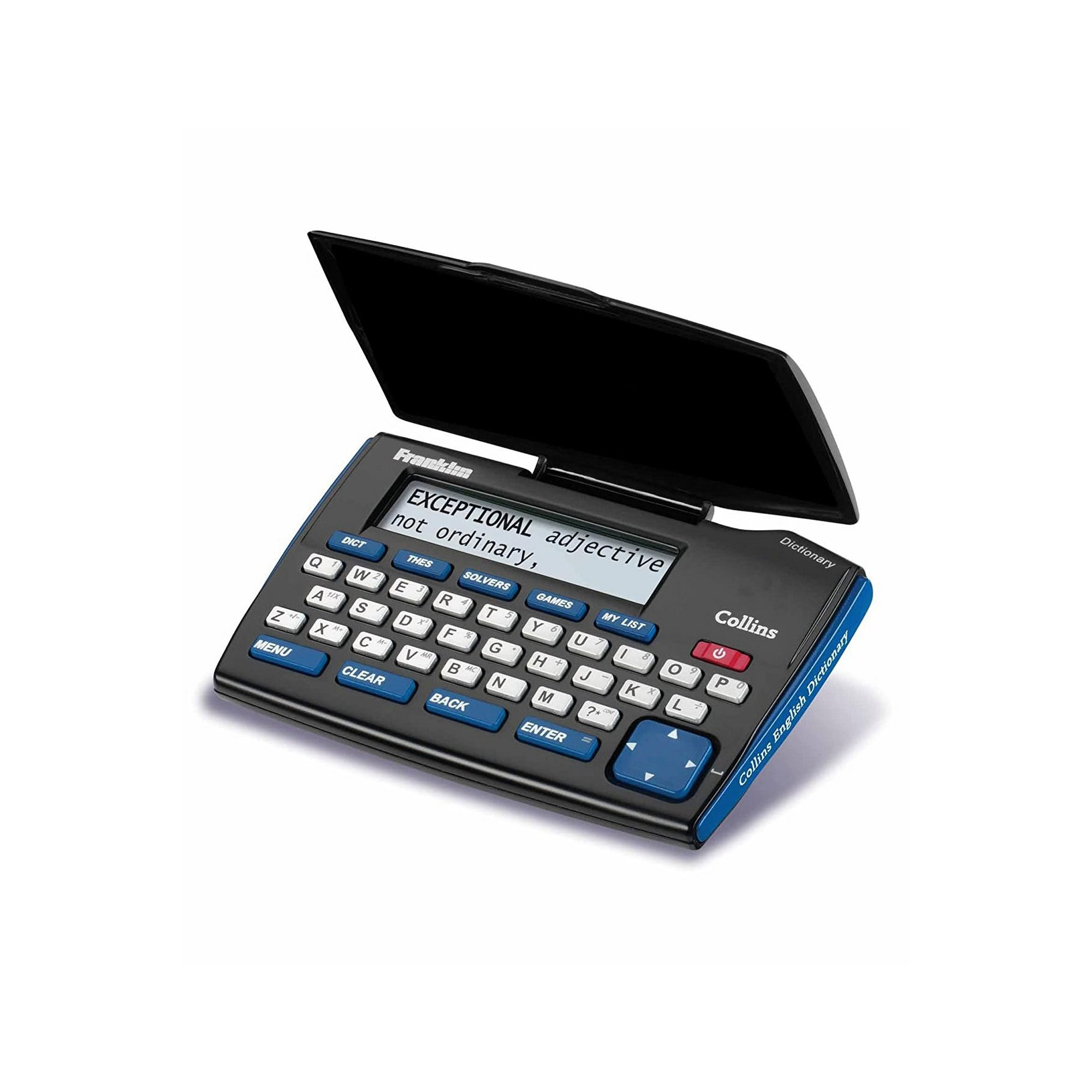 Image of Franklin DMQ221 Collins English Dictionary with Thesaurus