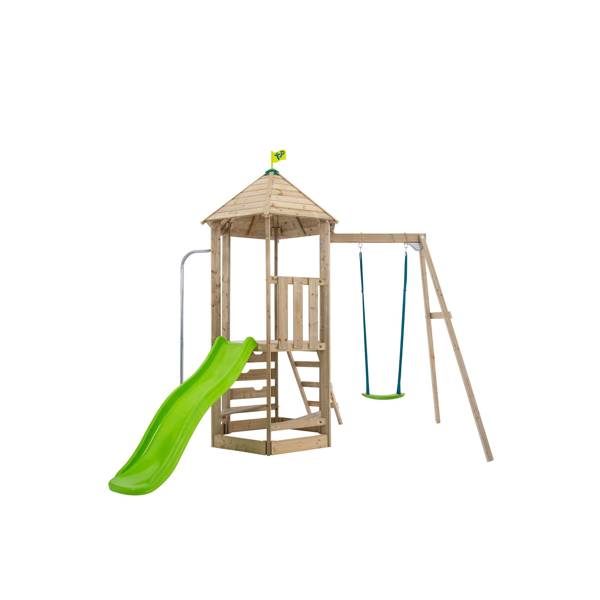 Image of TP Toys Castlewood Tower with Single Swing Arm and Metal Bracket