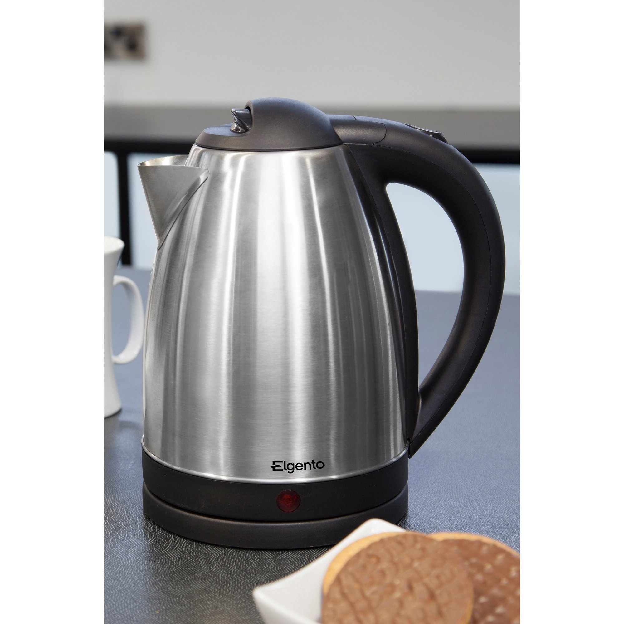 Image of Elgento 2200W Brushed Stainless Steel Kettle