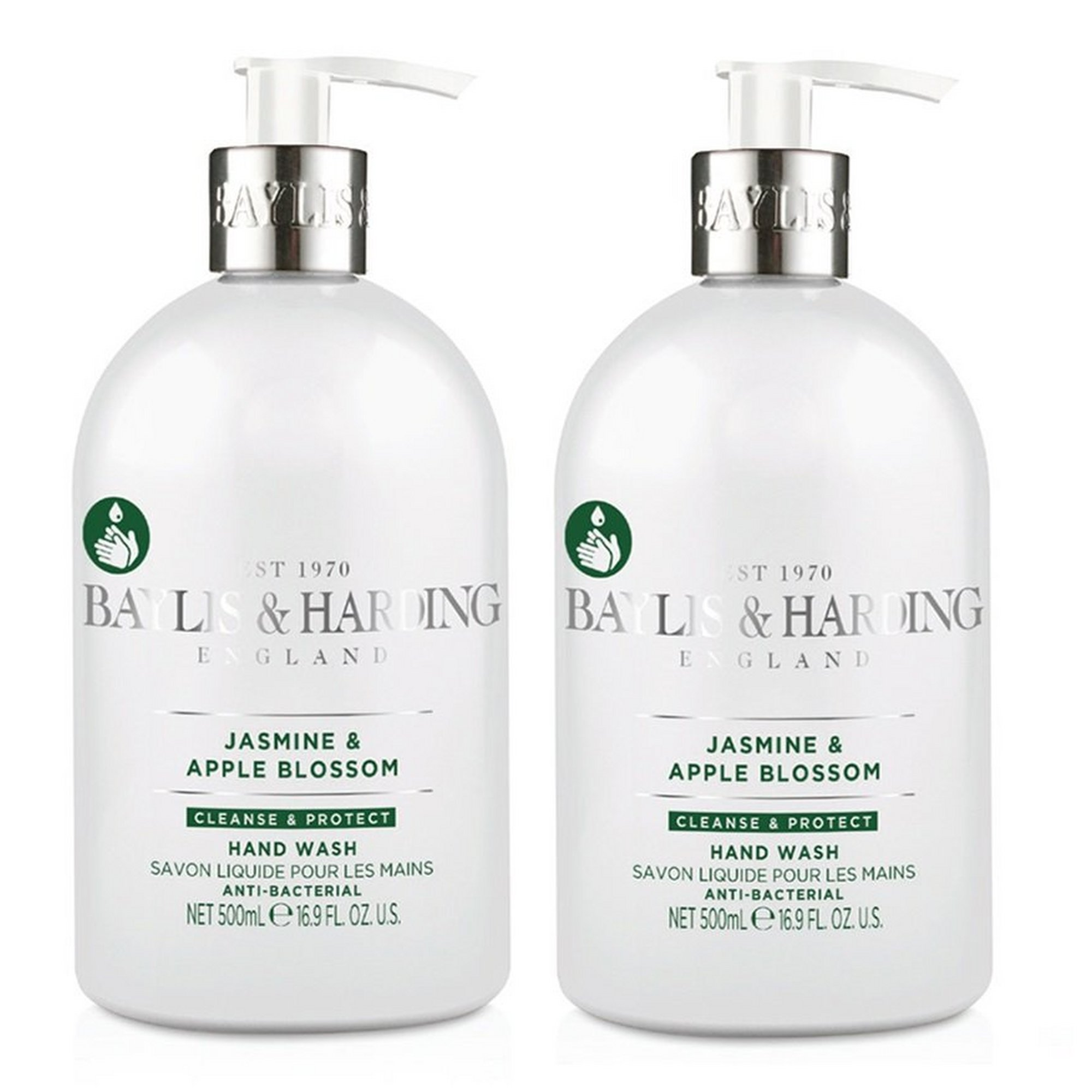 Image of Baylis + Harding Jasmine and Apple Blossom Anti-Bacterial Twin Ha...