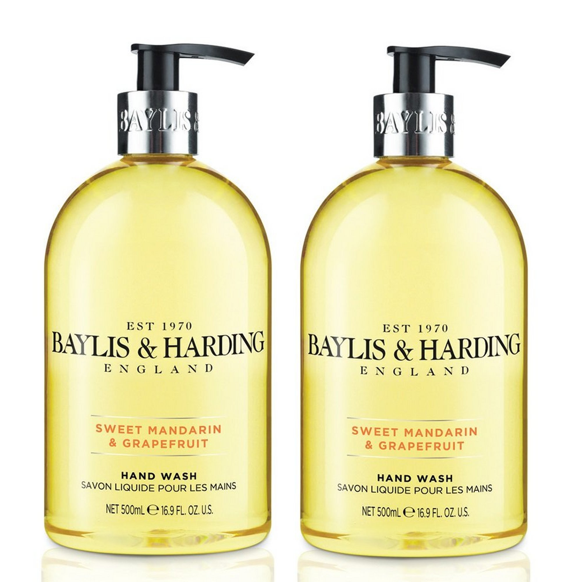 Image of Baylis + Harding Sweet Mandarin and Grapefruit Anti-Bacterial Twi...