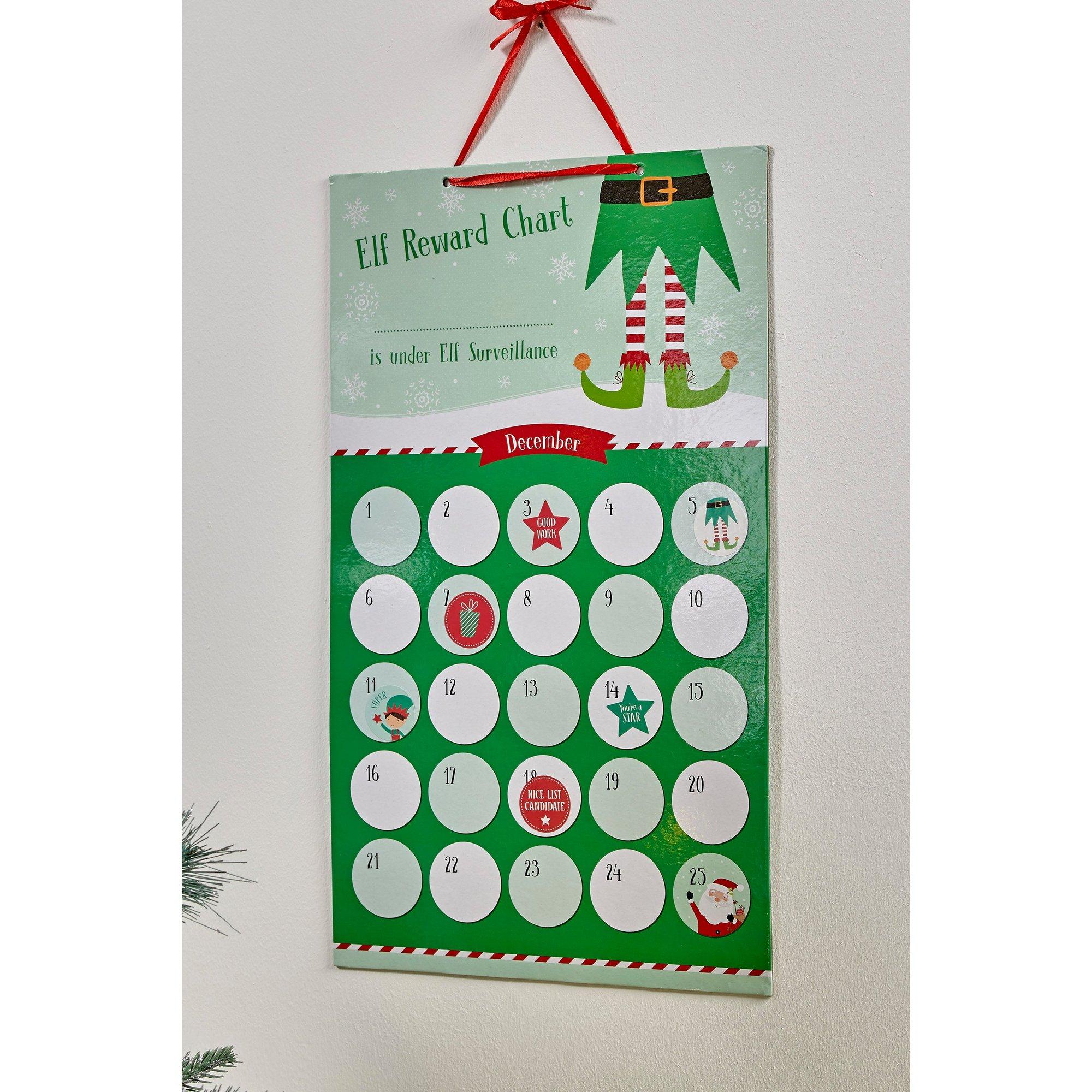 Image of Elf Reward Chart