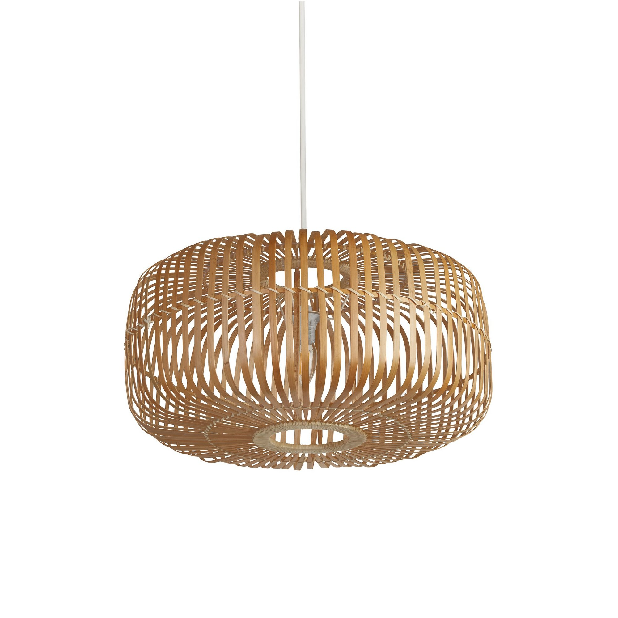 Image of Bamboo Drum Easy Fit Light Shade