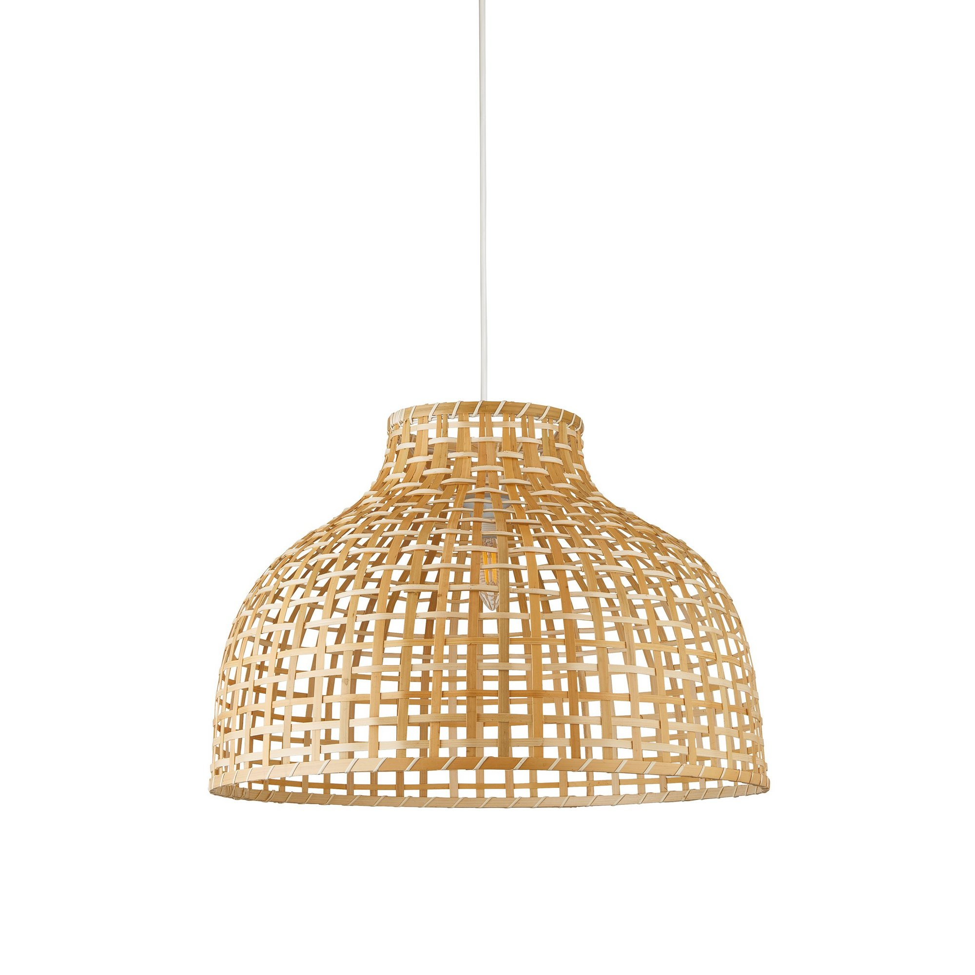 Image of Bamboo Dome Easy Fit Light Shade