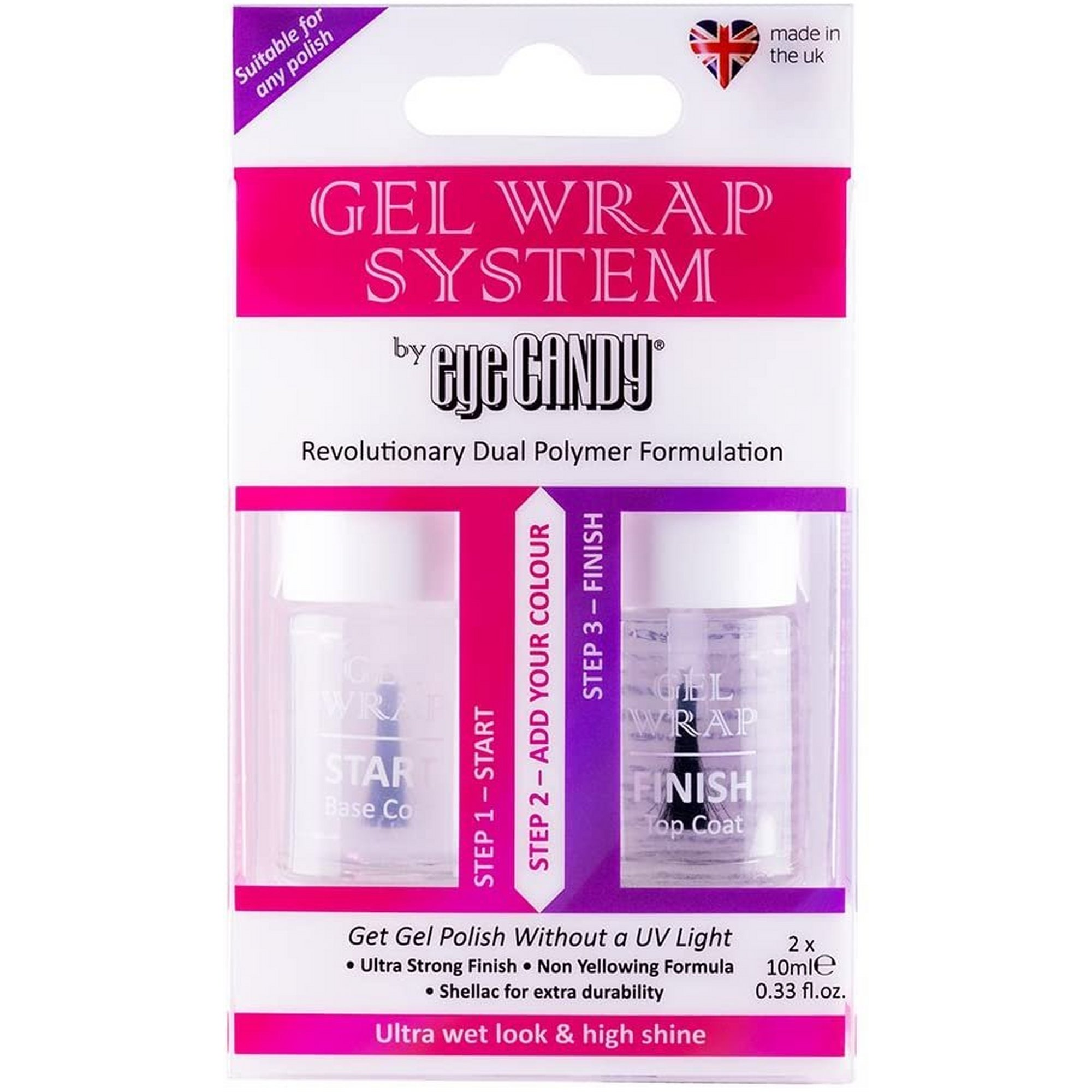 Image of Eye Candy Gel Wrap Nail Set