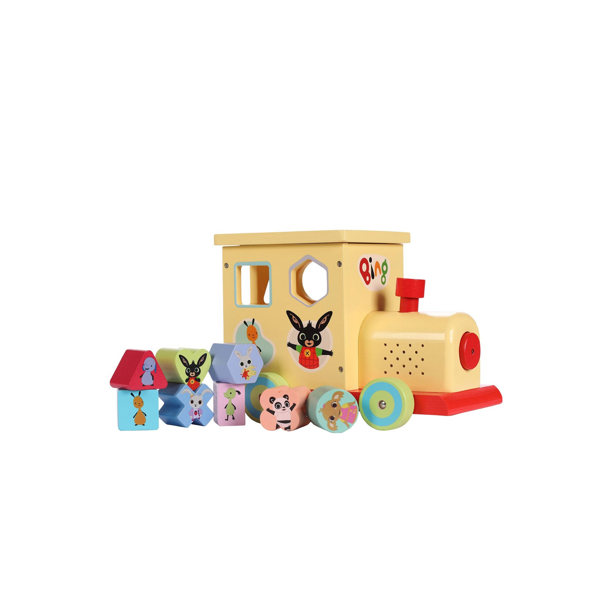 Image of Bing Shape Sorter Train with Lights and Sound