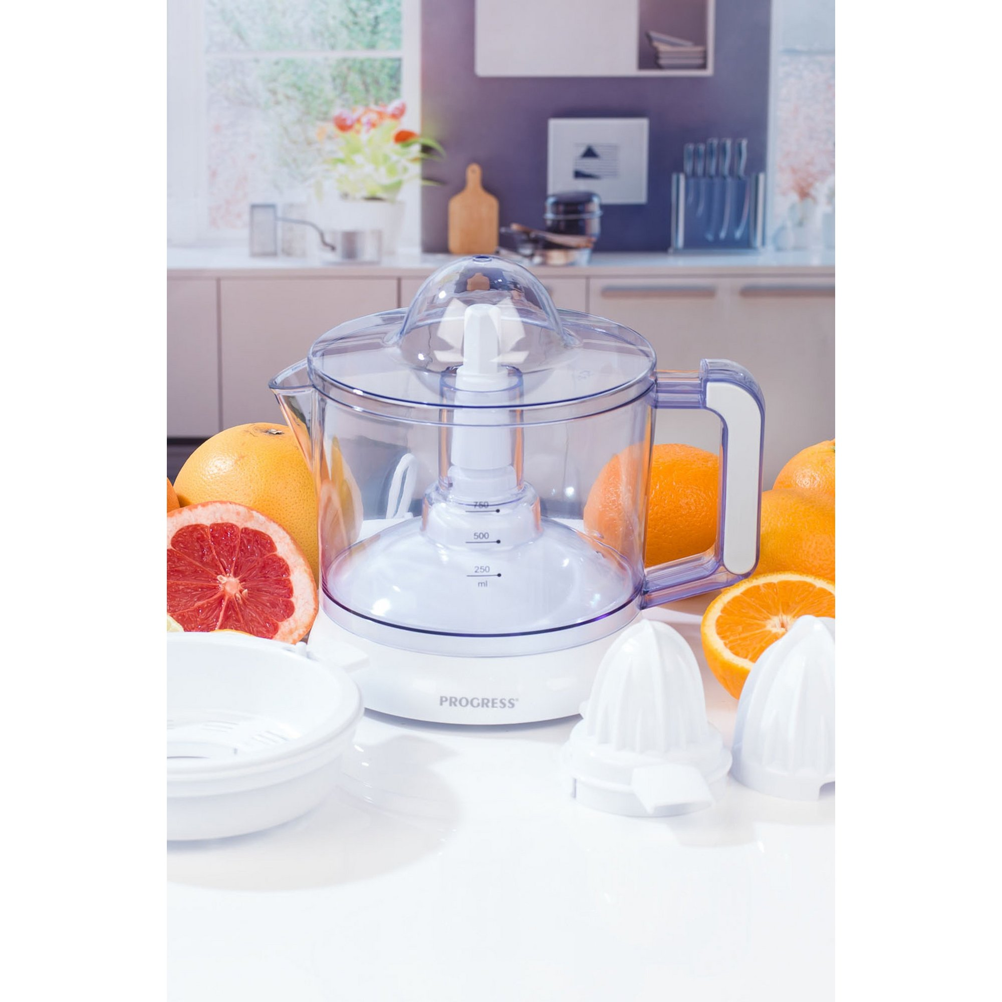 Image of Progress Electric Citrus Juicer with Adjustable Pulp Filter