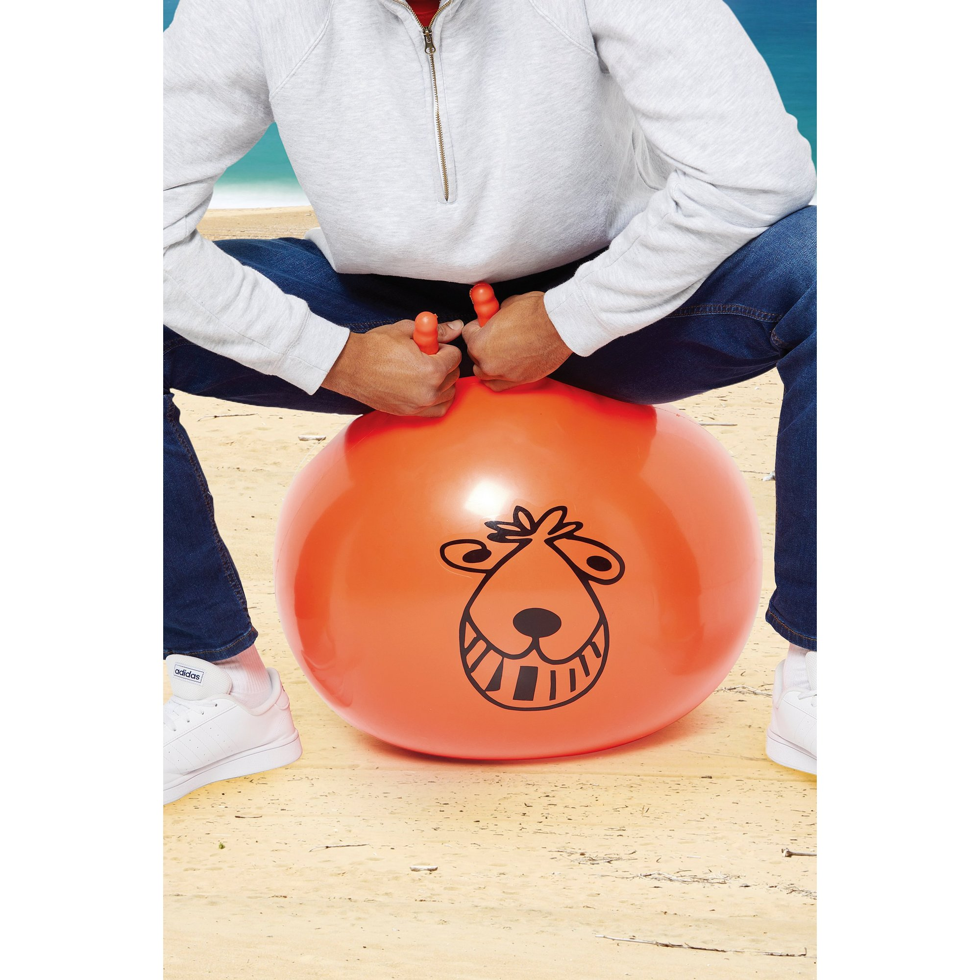 Image of Giant Retro Space Hopper For Adults