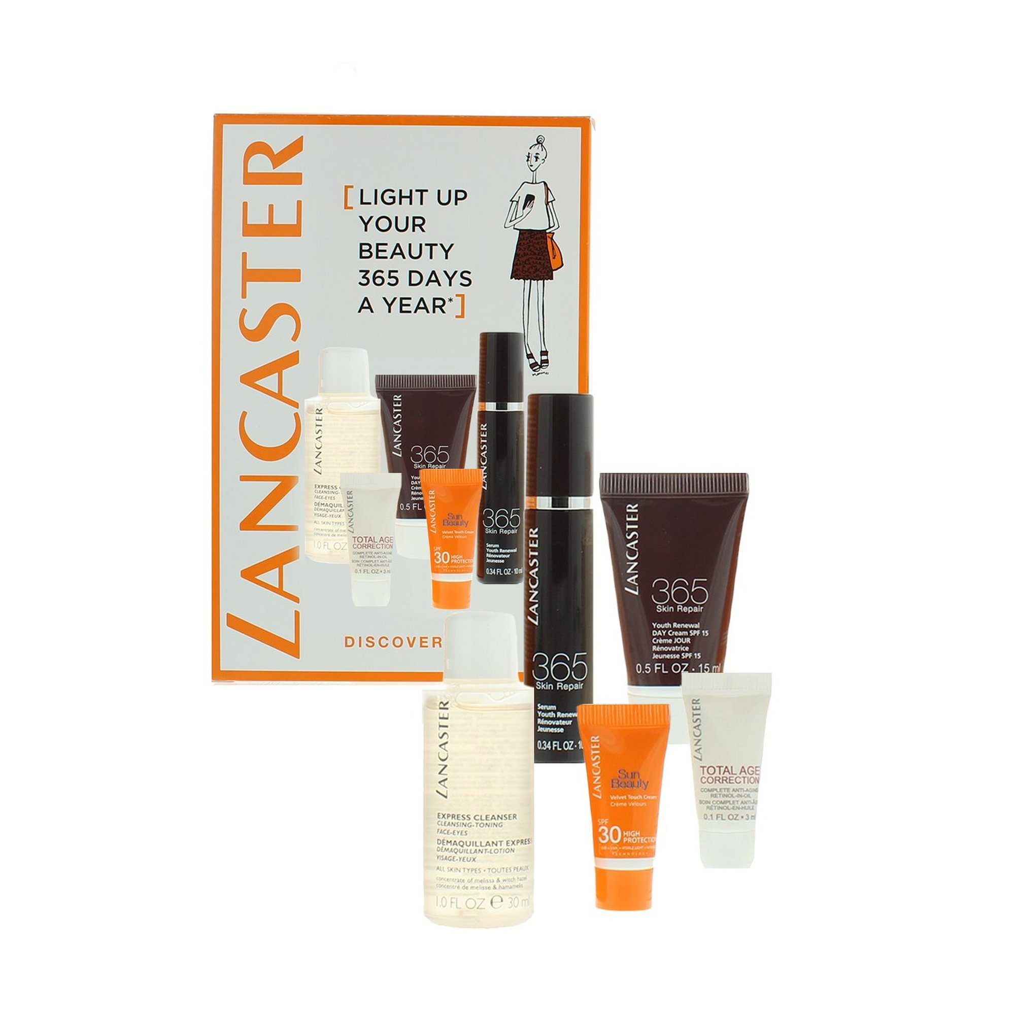 Image of Lancaster Discovery Sun Care Set