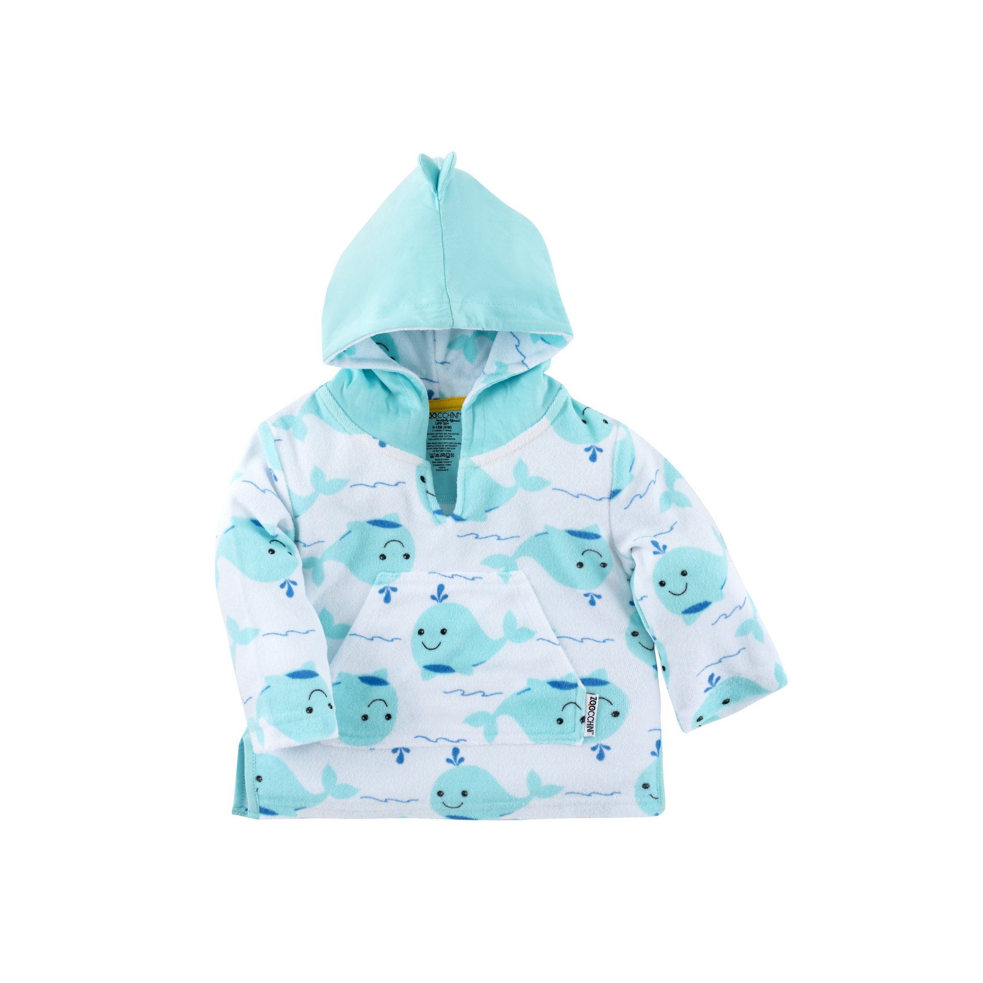 Image of Zoocchini Cotton Babies Cover-Up - Whale