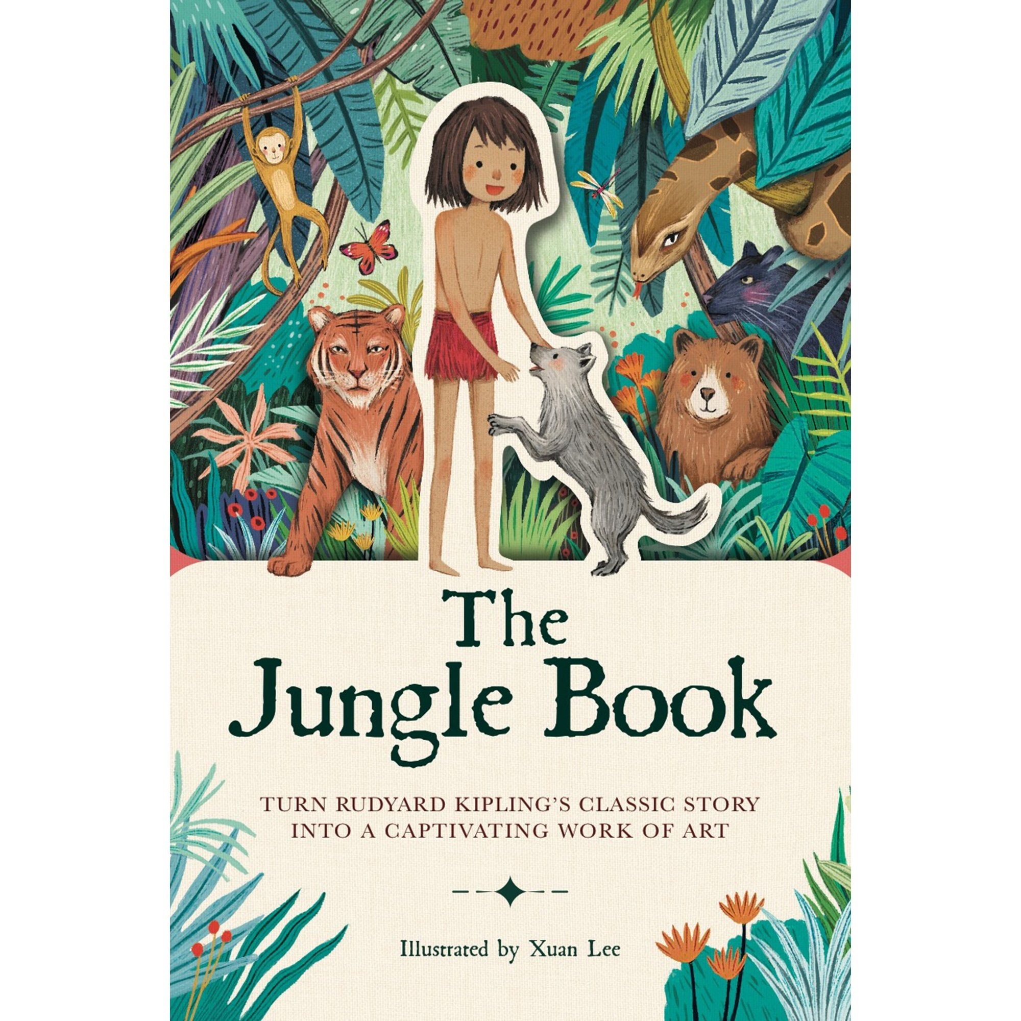 Image of Paperscapes The Jungle Book