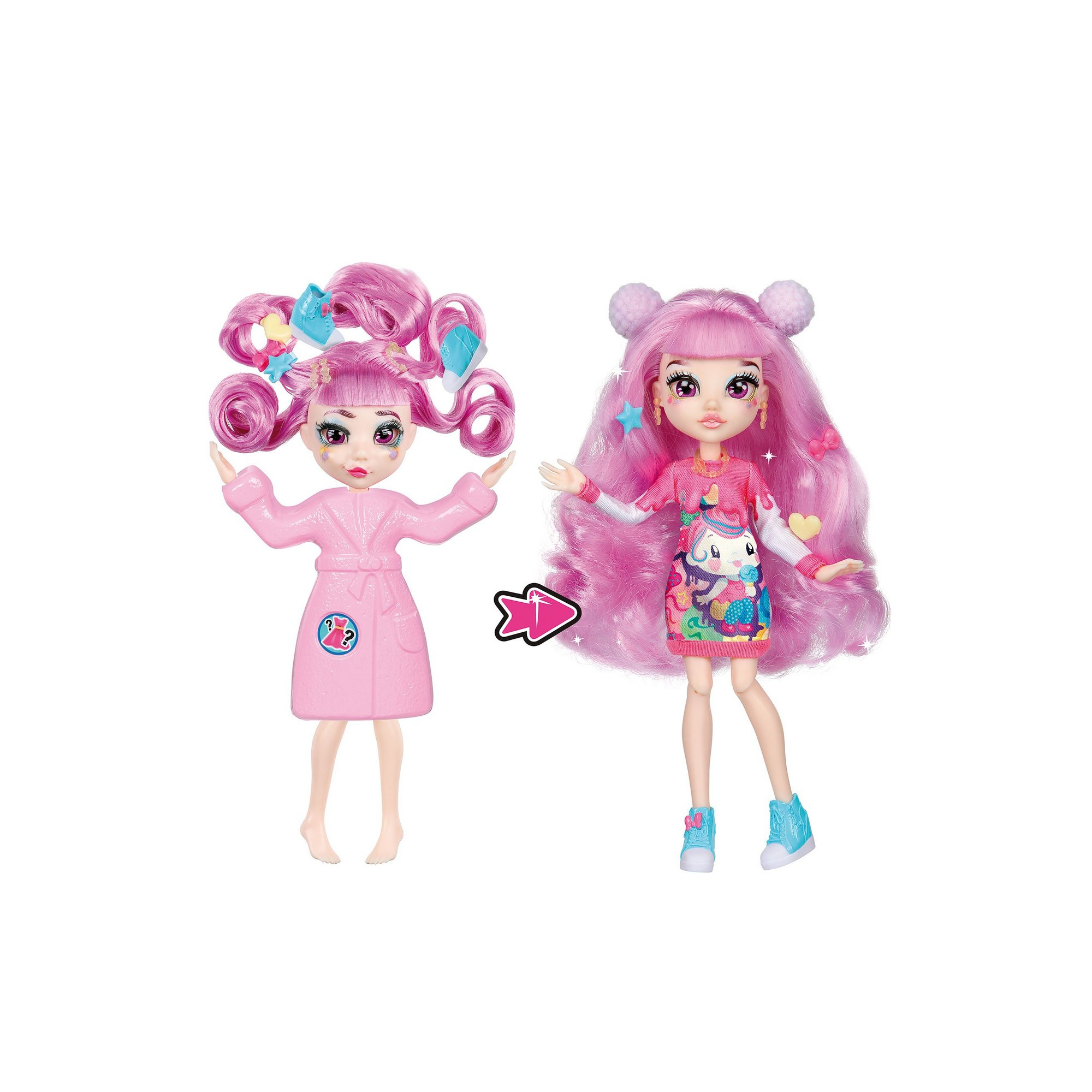 Image of Failfix Season 1Total Makeover Doll - Kawaii.Qtee