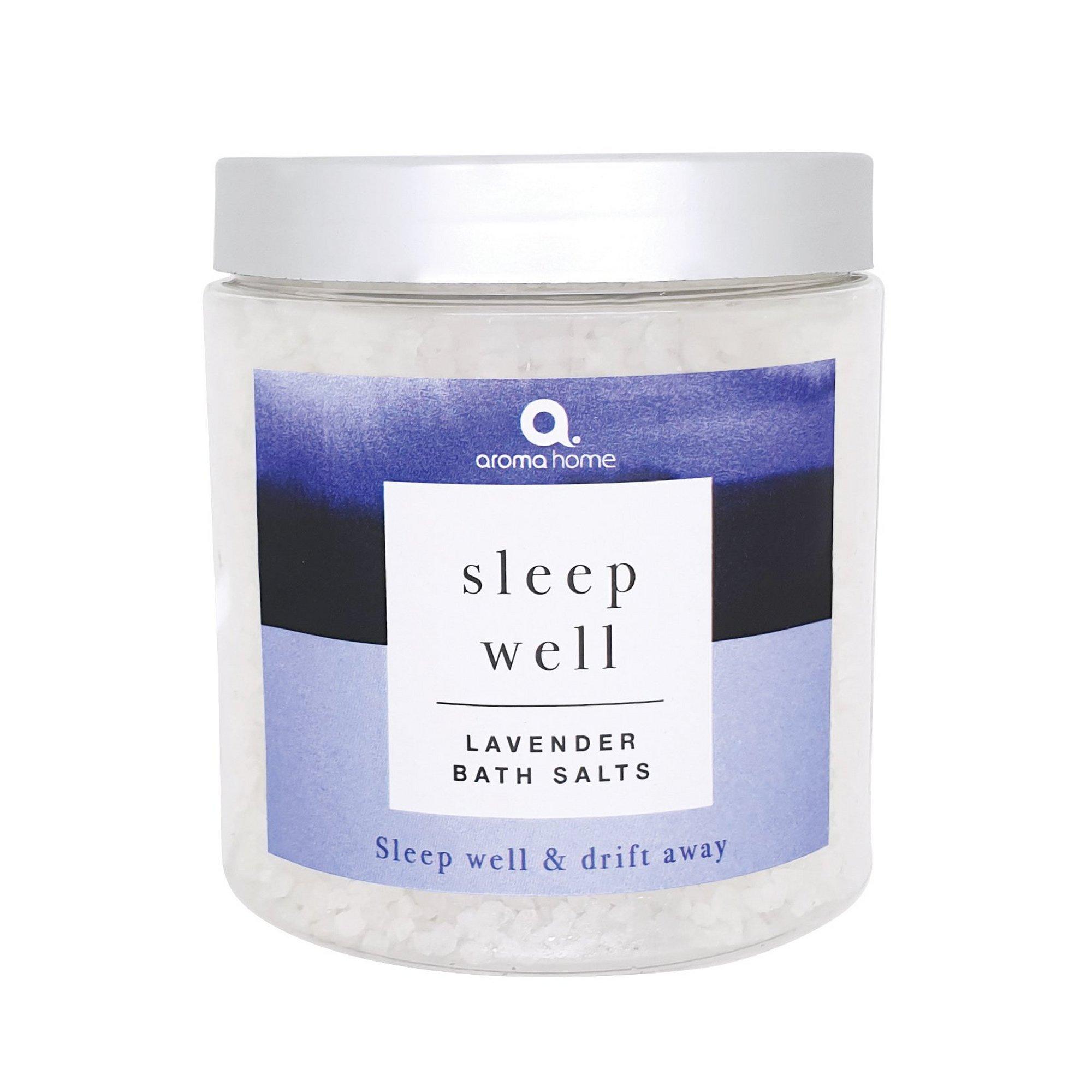 Image of Aroma Home Sleep Well Lavender Bath Salts