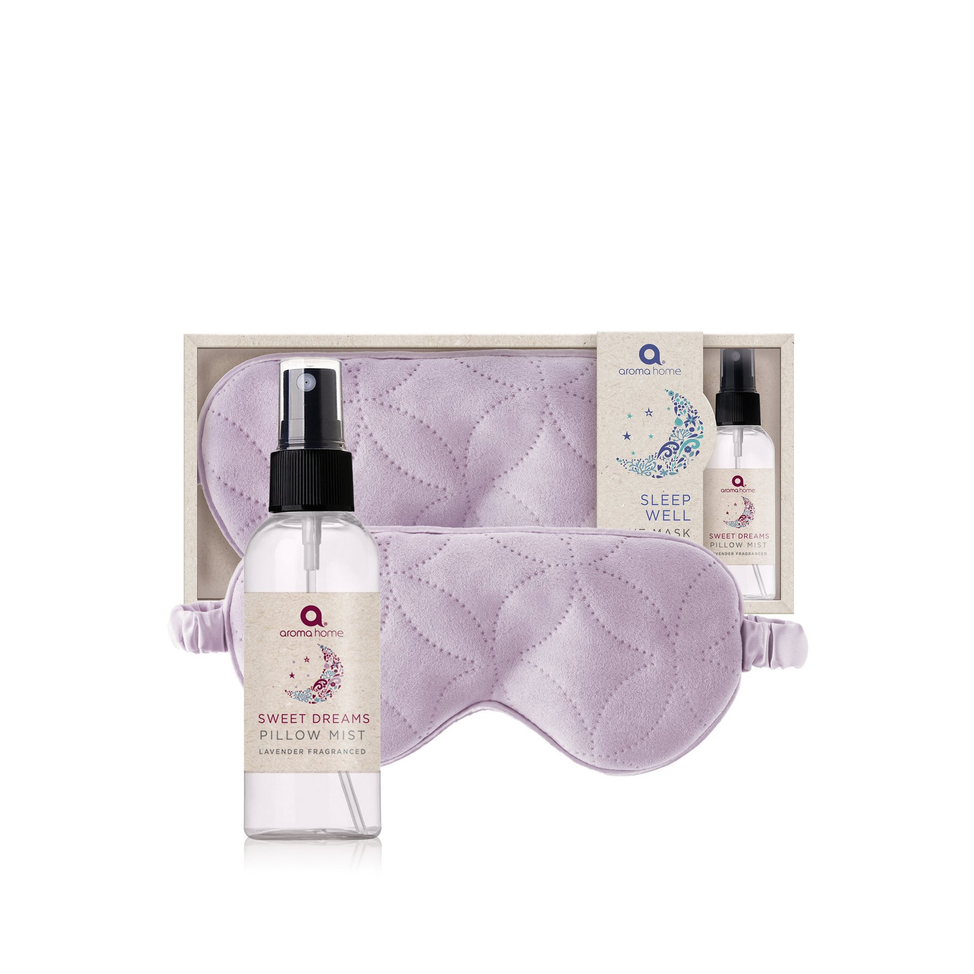 Image of Aroma Home Essentials Lavender Eye Mask with Pillow Mist