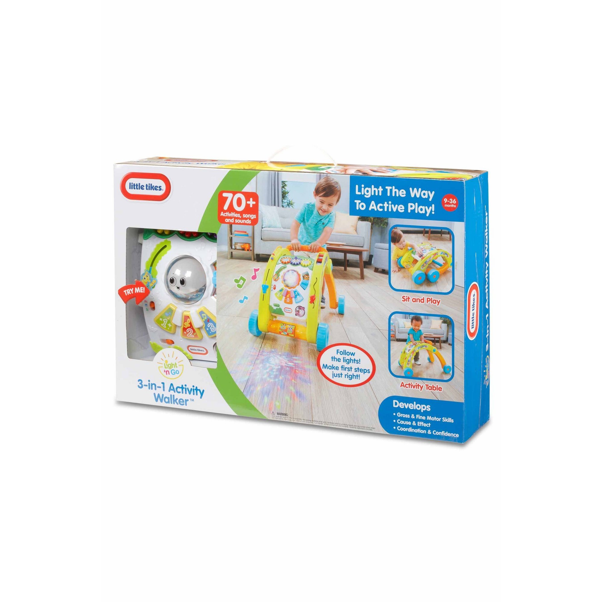 Image of Little Tikes 3-in-1 Activity Walker